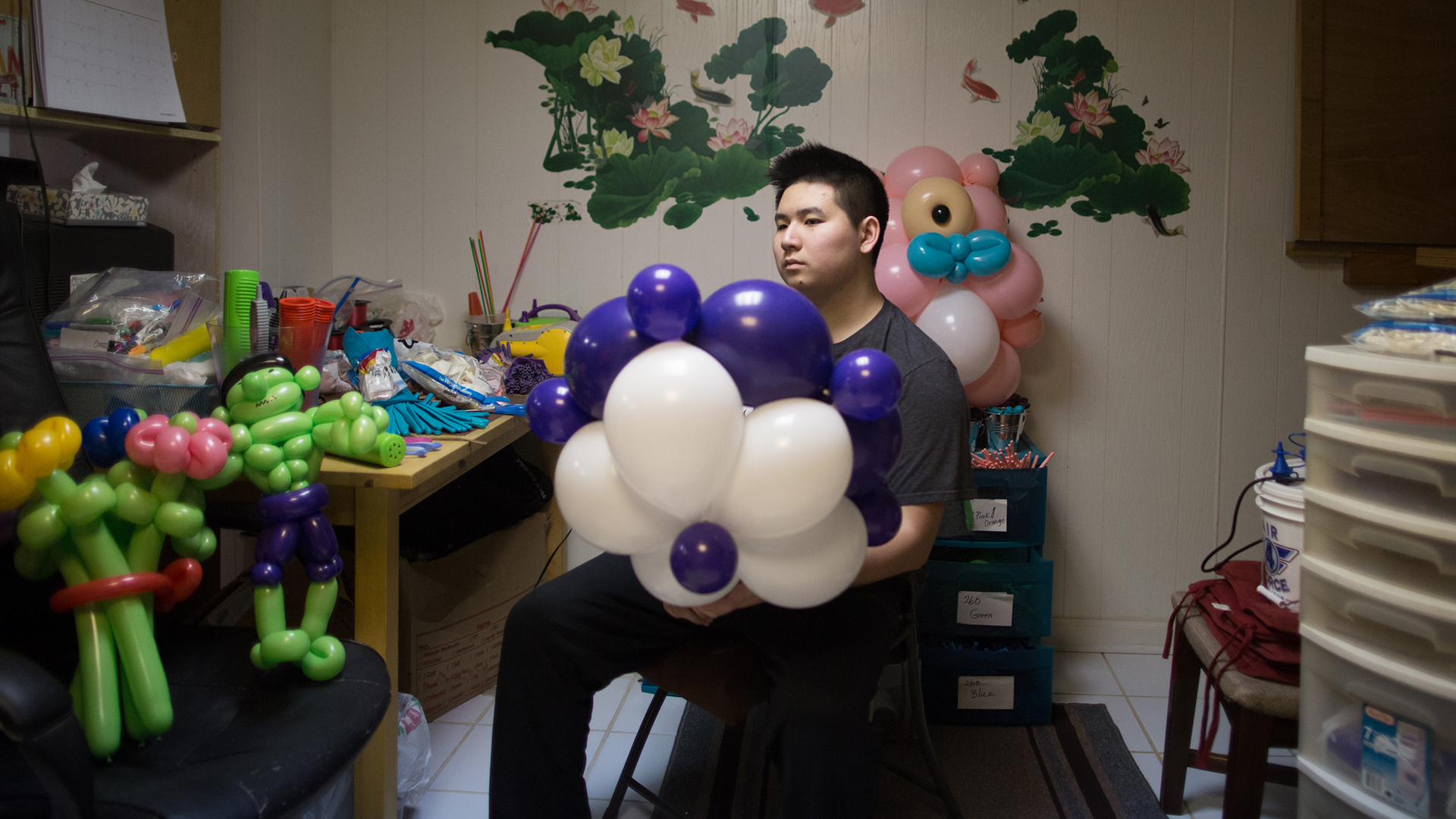 Fascination with Balloon Art Grows Into an Ausome Opportunity