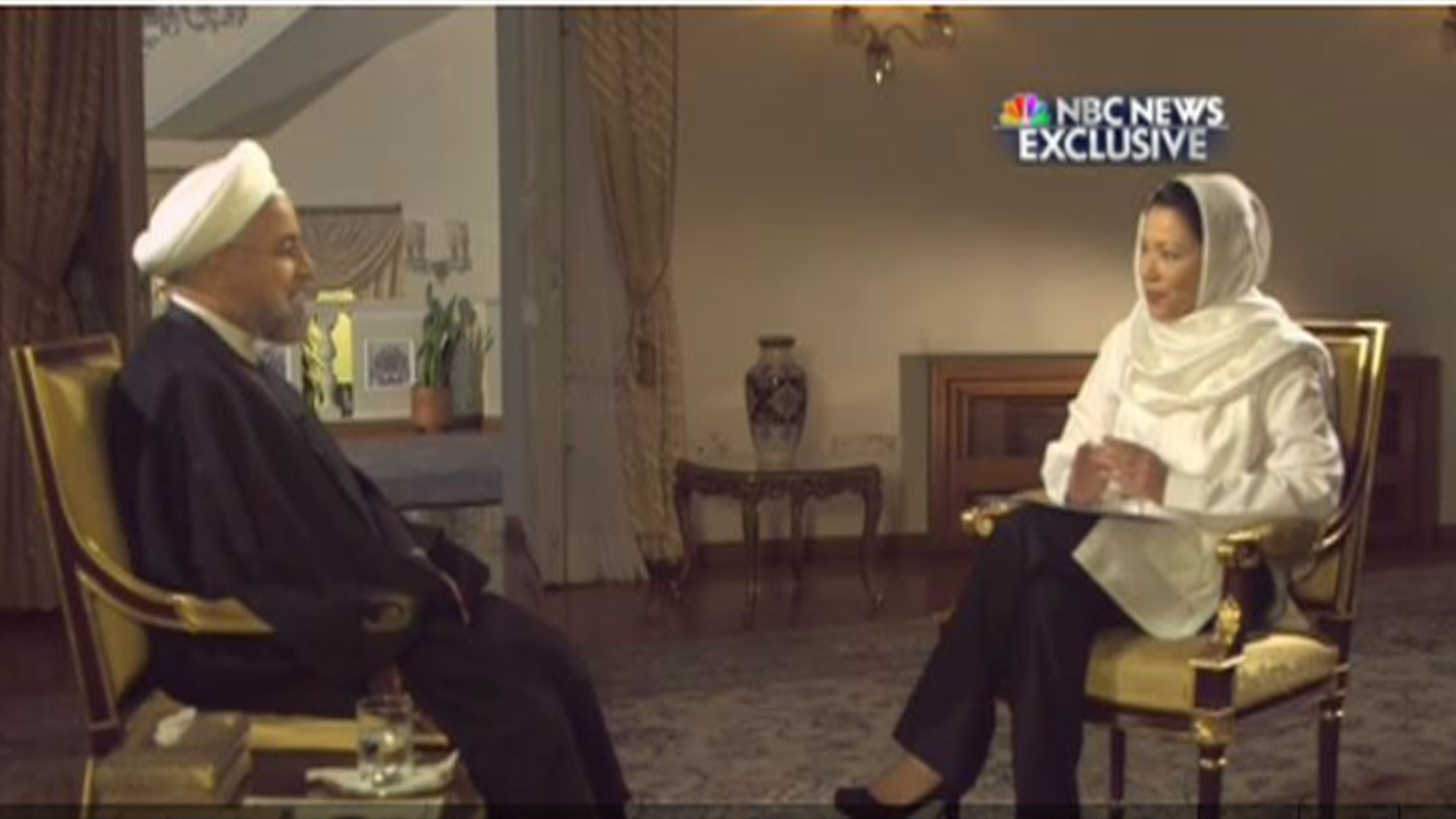 Full Hassan Rouhani interview