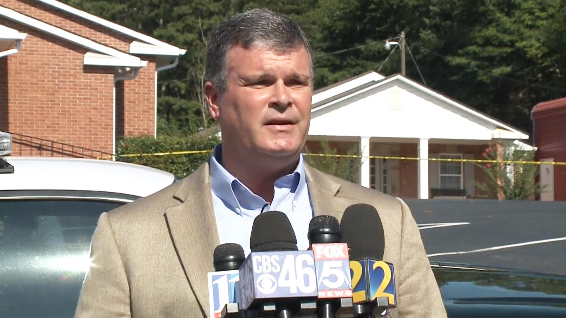 Georgia Sheriffs fice on Shooting No Reason to Wipeout an