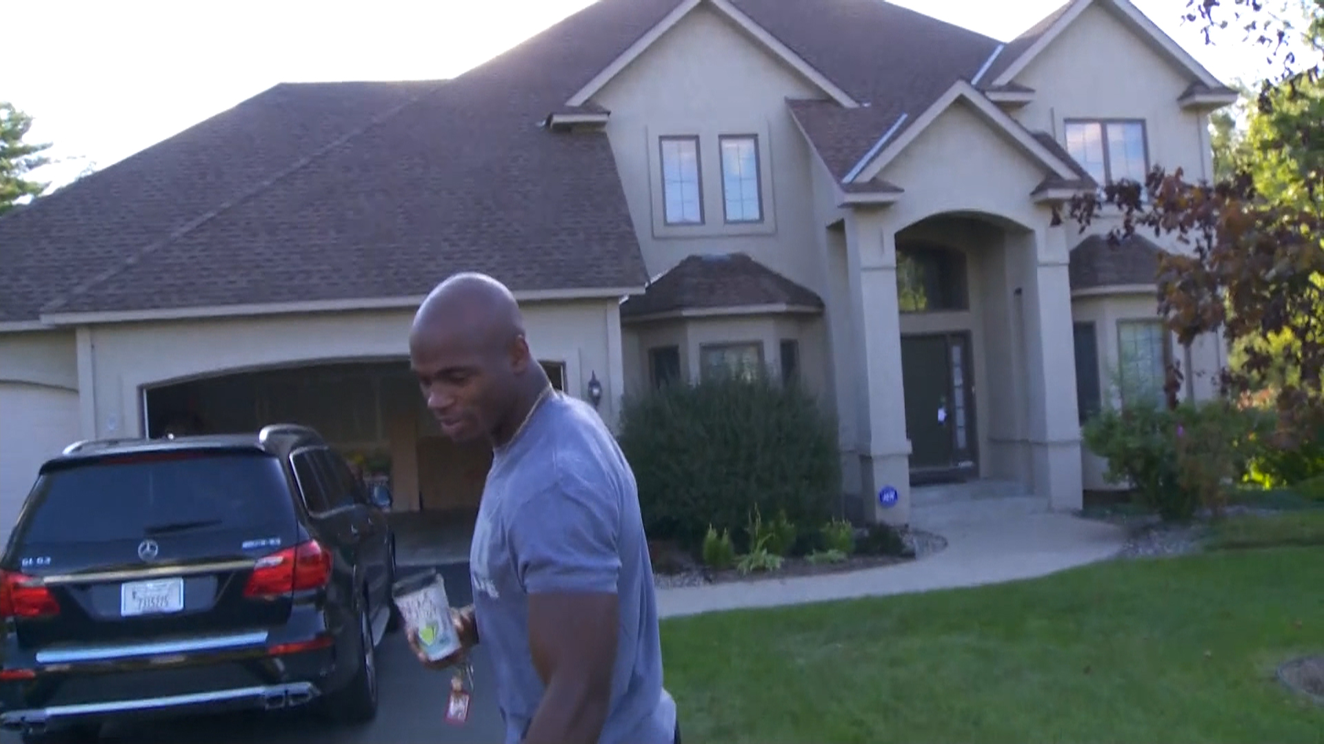 Adrian Peterson mansion in Minesota