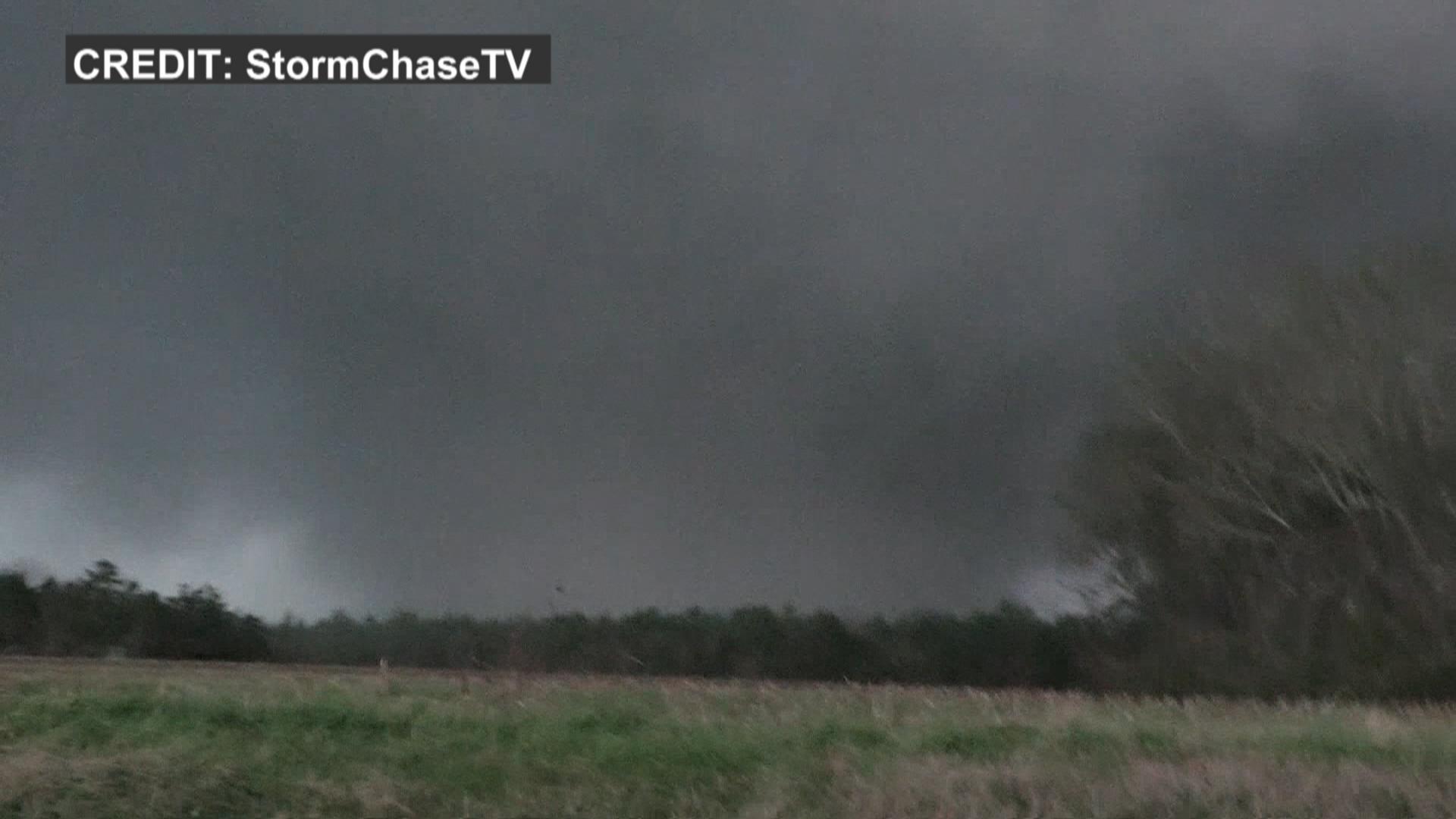Tornado Touches Down in Alabama - NBC News