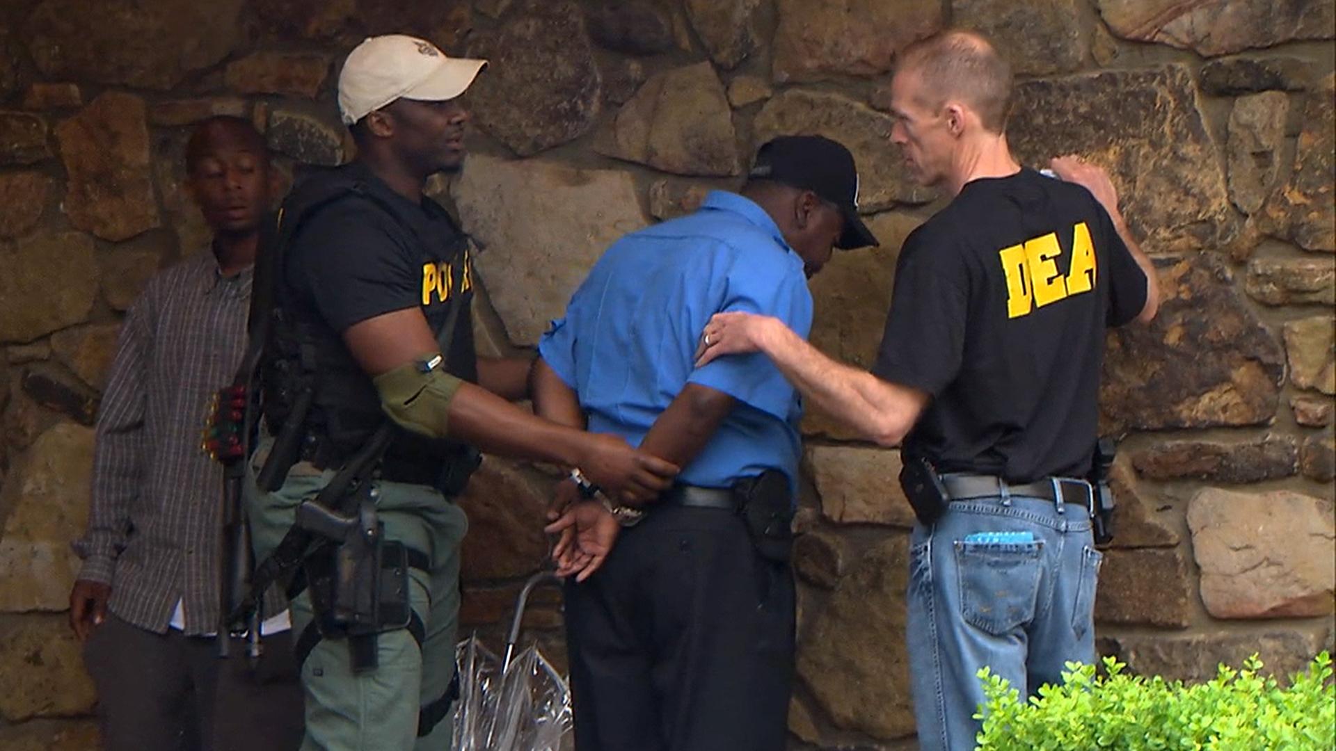 Drug Enforcement Administration Raids Pill Mills In Four