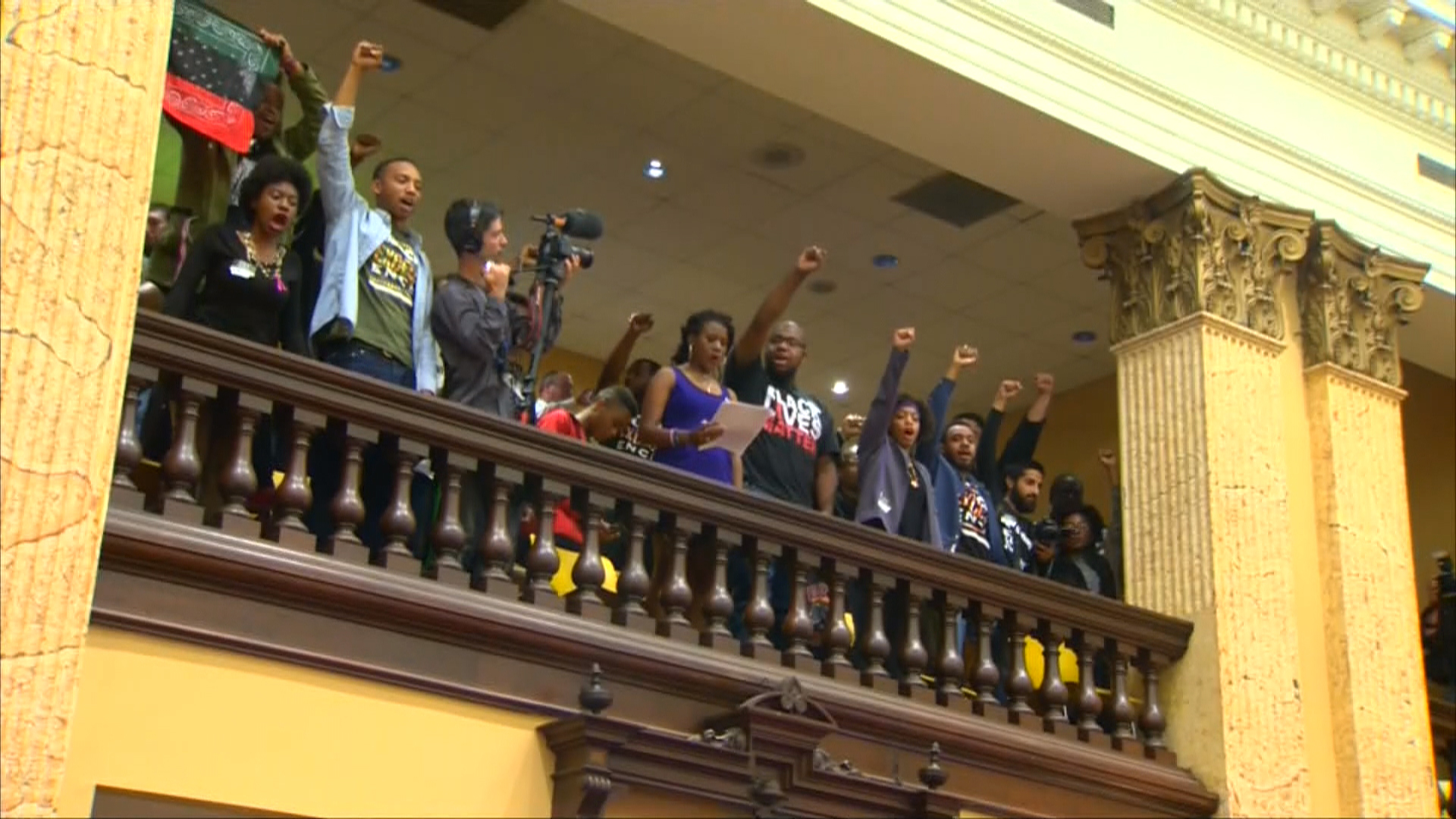 Freddie Gray Activists Arrested During Vote at Baltimore City Hall