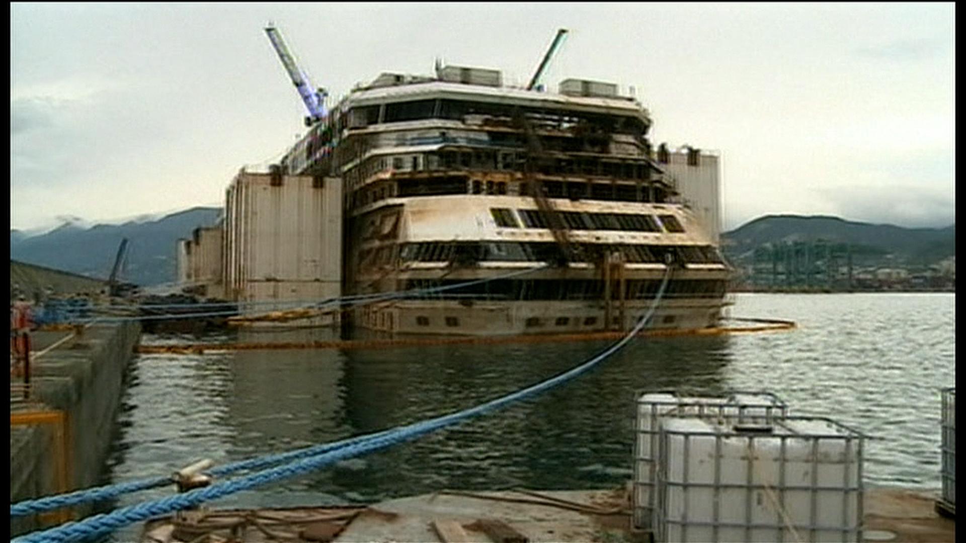 Crews Work To Dismantle The Costa Concordia Nbc News