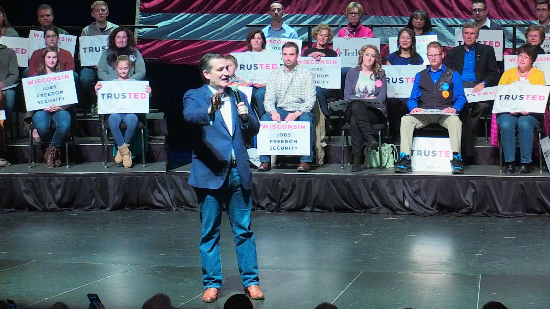 Wisconsin Gov. Scott Walker Backs Ted Cruz