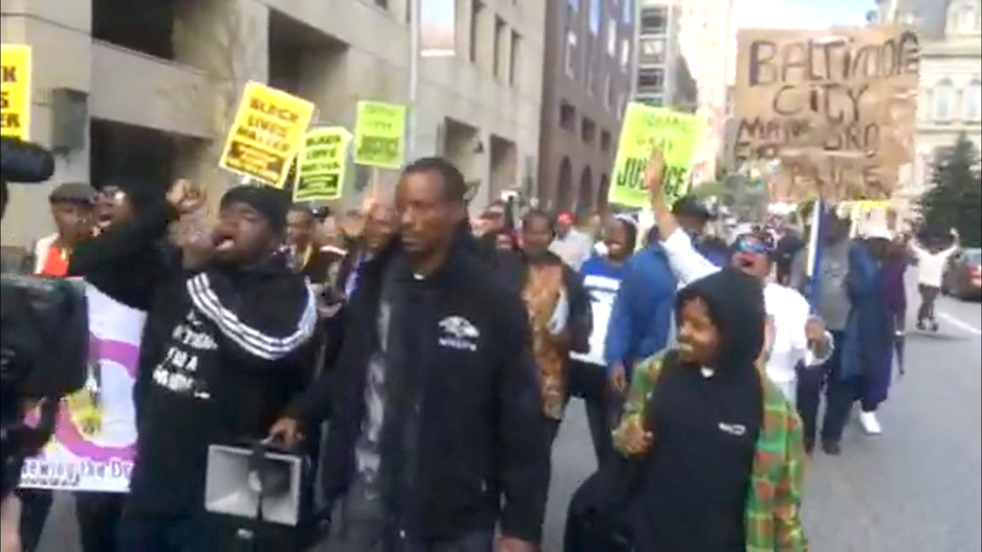 Protesters Demand 'Justice' in Freddie Gray's Death