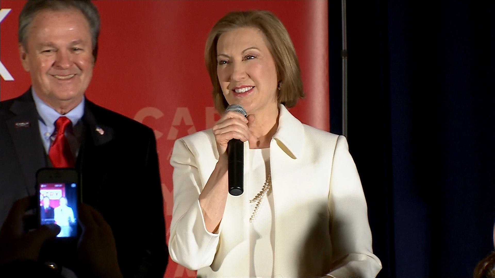 Fiorina in NH: 'We are going to keep going'