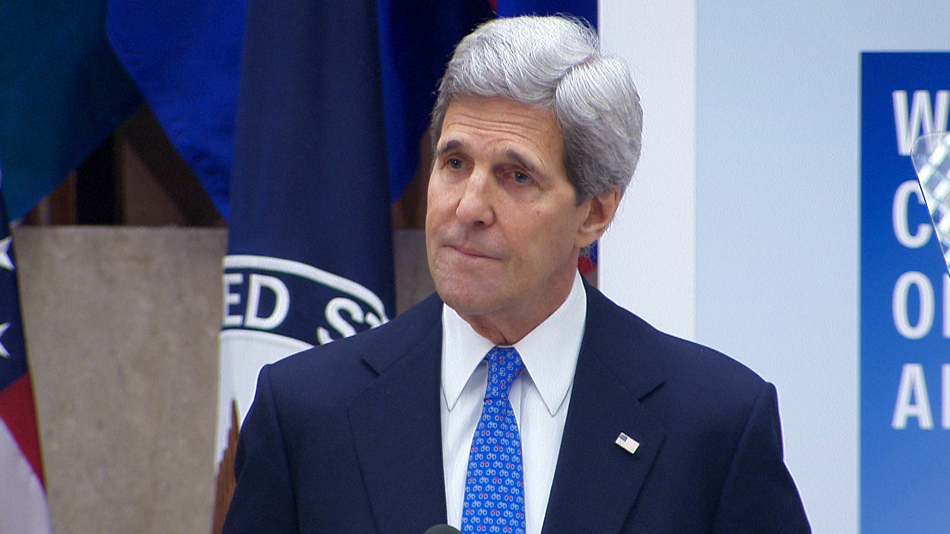 Kerry: Kidnappings Relate to US National Security
