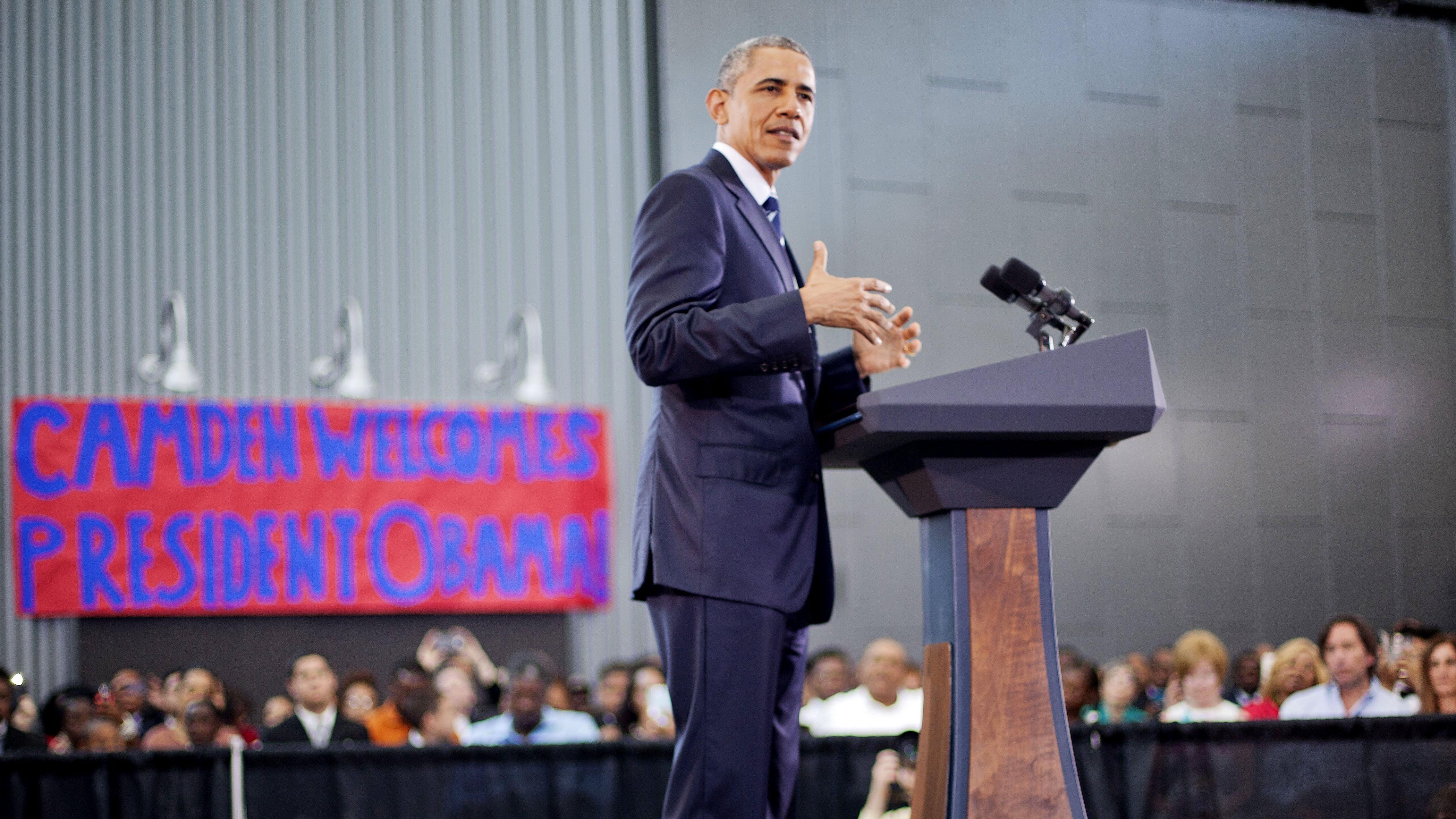 Obama: U.S. Cracking Down on 'Militarization' of Local Police