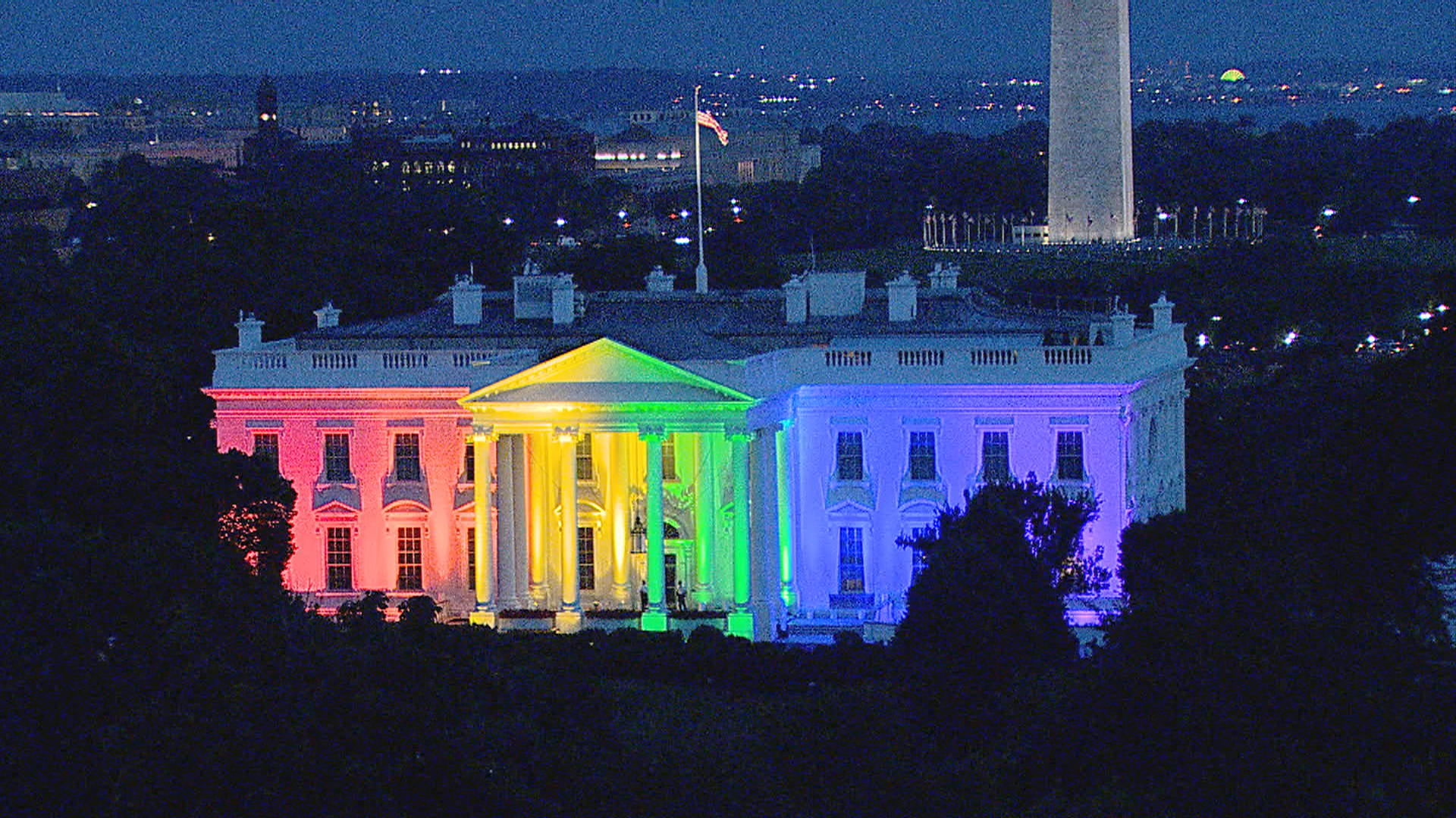 White House 39 Pretty Cool 39 In Rainbow Colors Says Obama