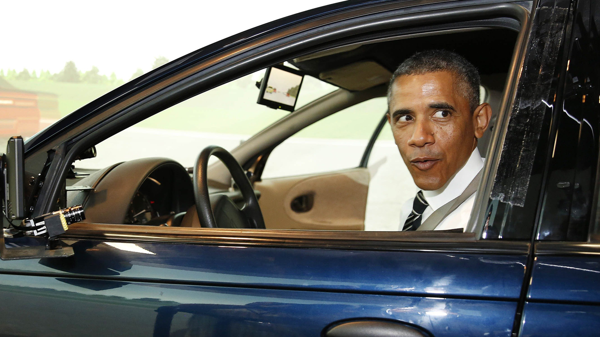 Obama Drives For The First Time In Years Sort Of Nbc News