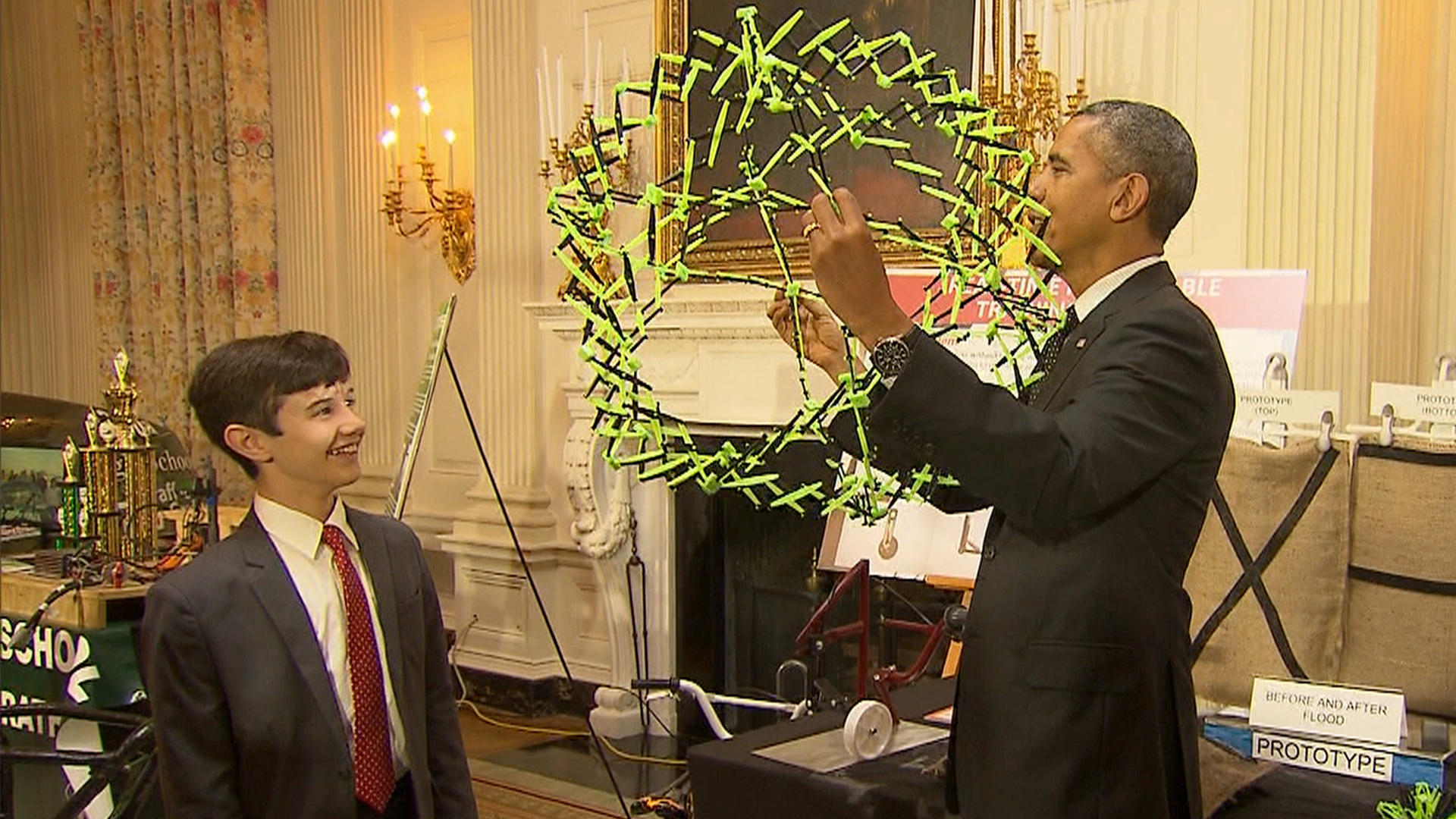 Obama Hails Medal-Winning Researchers for Pushing Limits