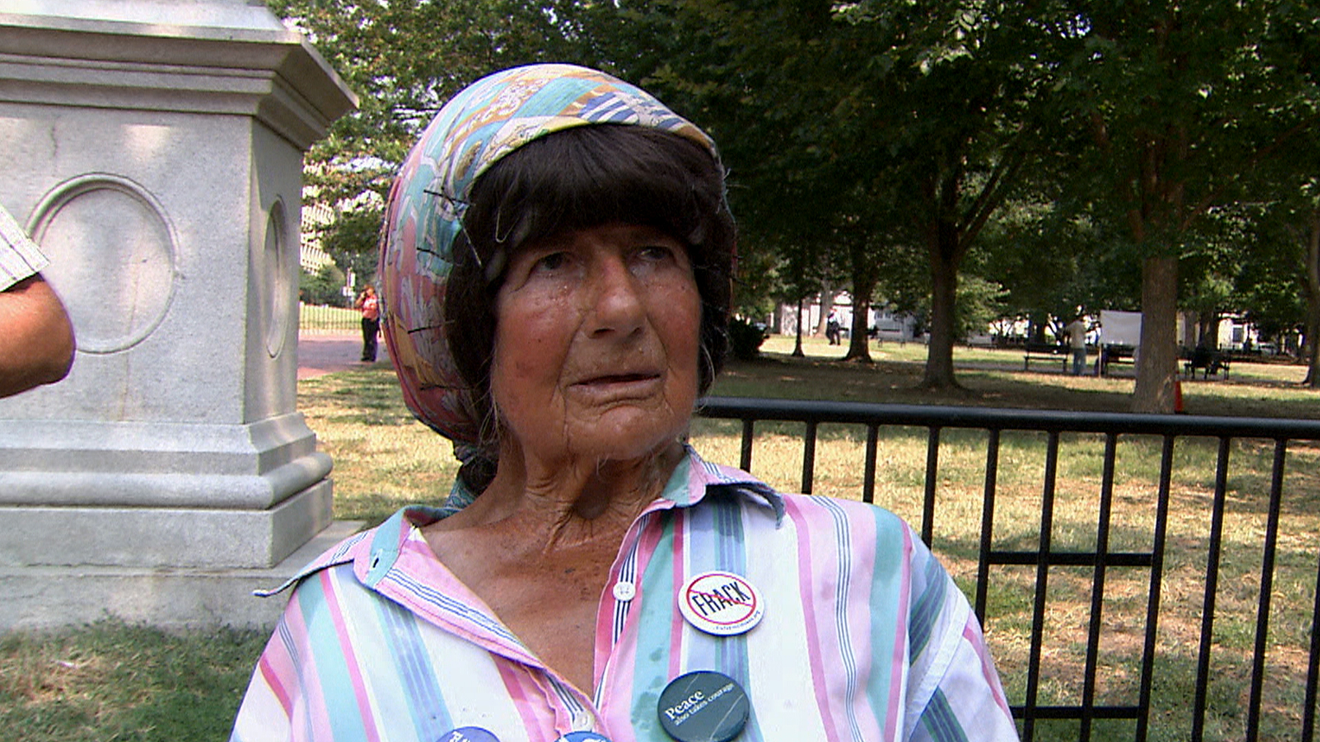 Woman Who Held Decades-Long Protest Outside of White House Dies