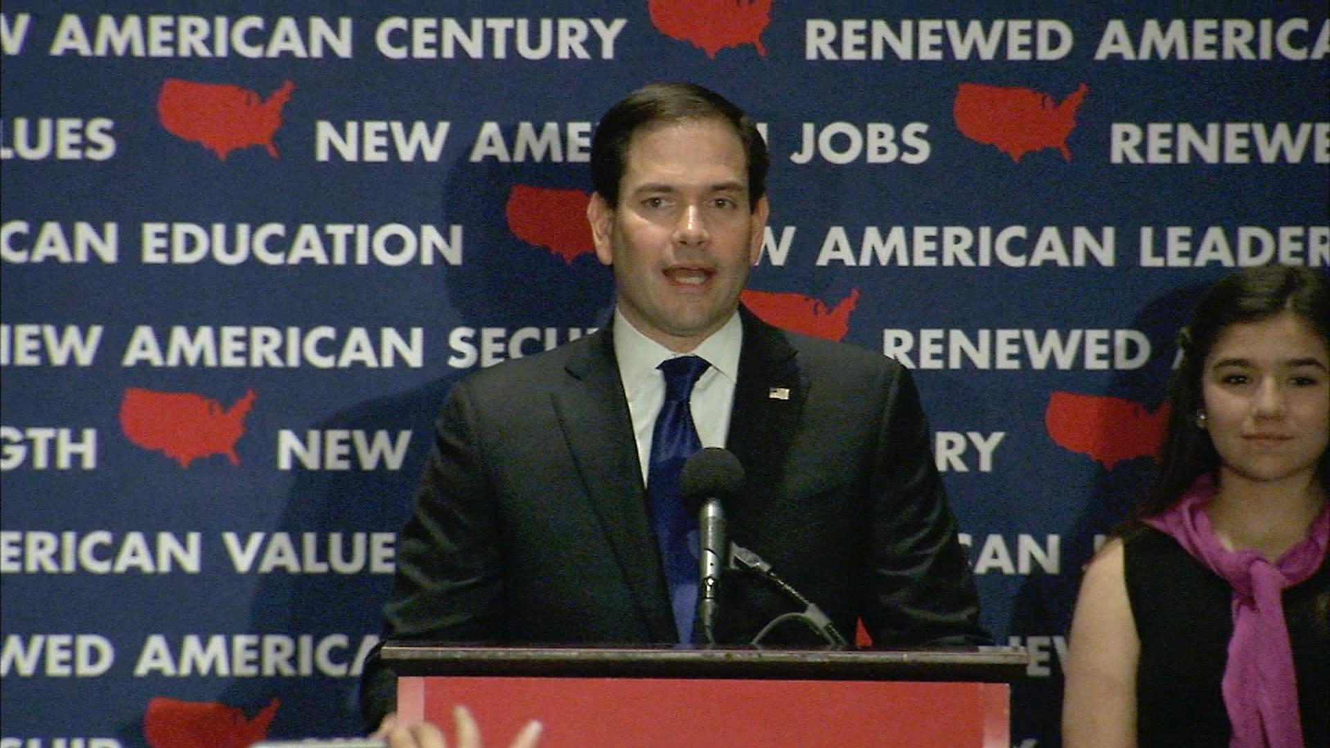 Marco Rubio Ends Presidential Run