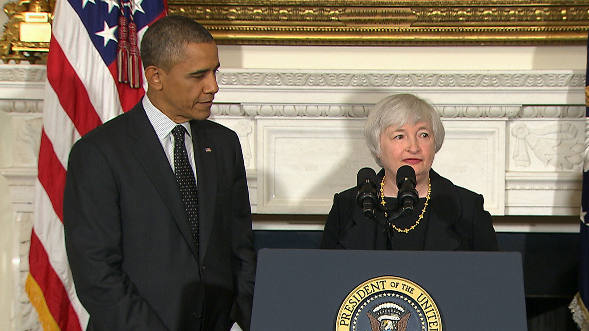President Obama nominates Yellen as first woman to lead Fed