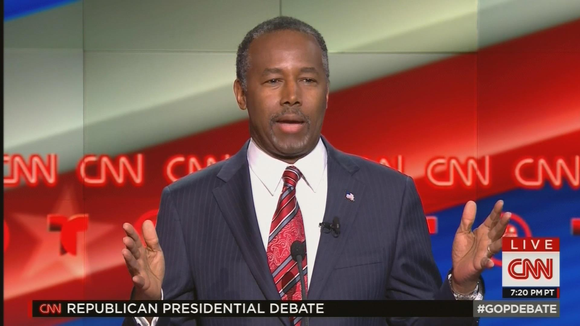 Carson on debate: I'm going to whine