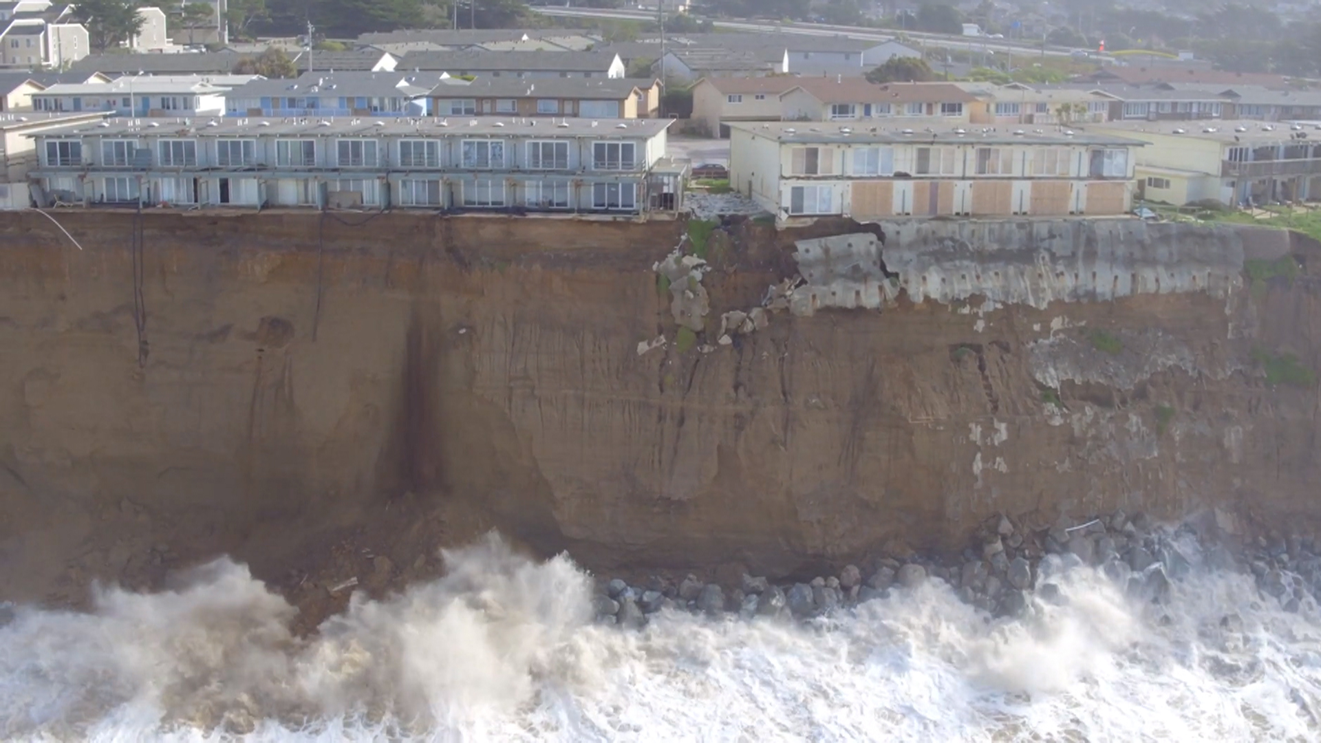 California residents turn to drones to document coastal erosion thecheapjerseys Image collections