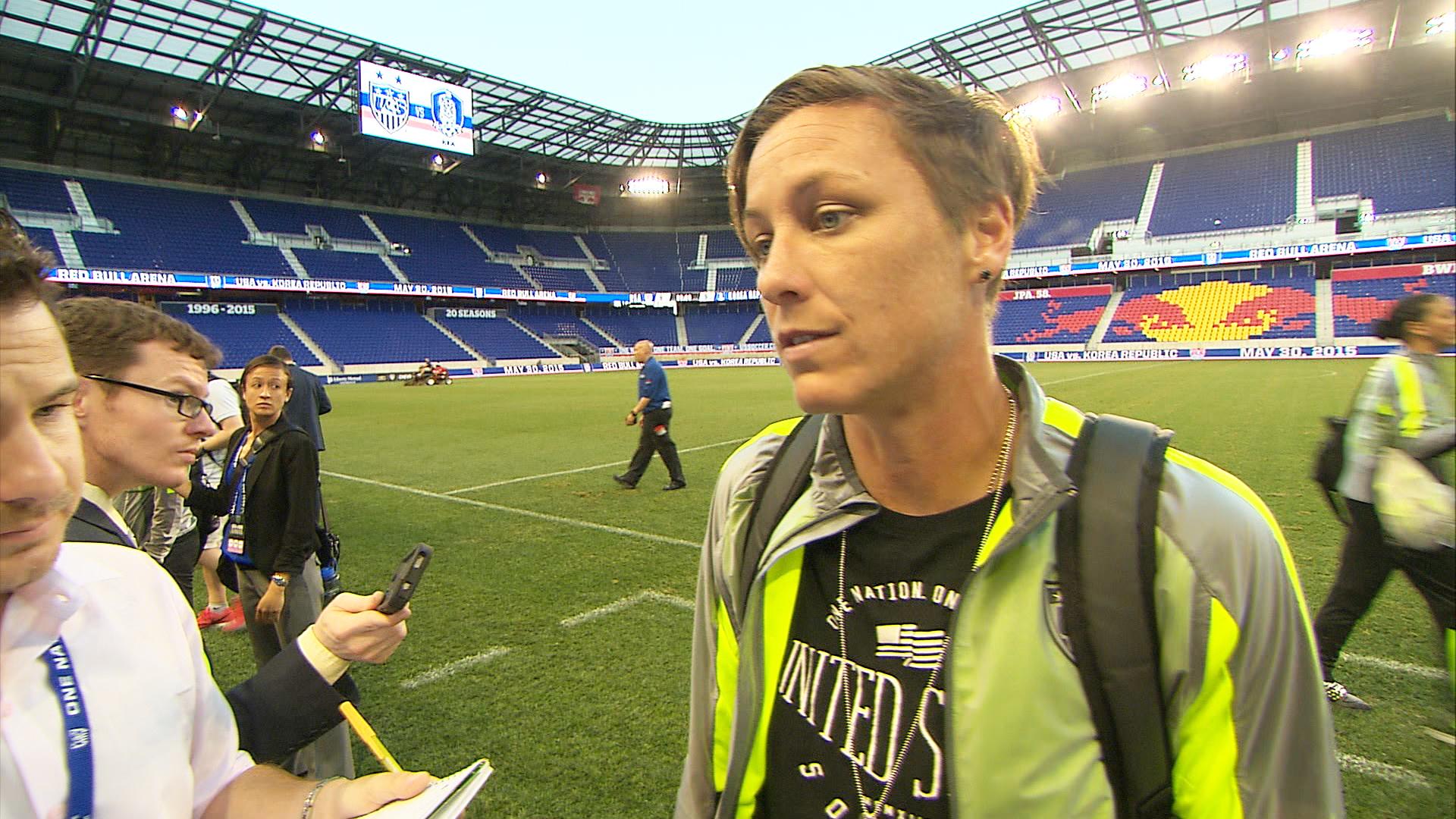 U.S. Soccer Star Abby Wambach: Playing on Turf a 'Nightmare'