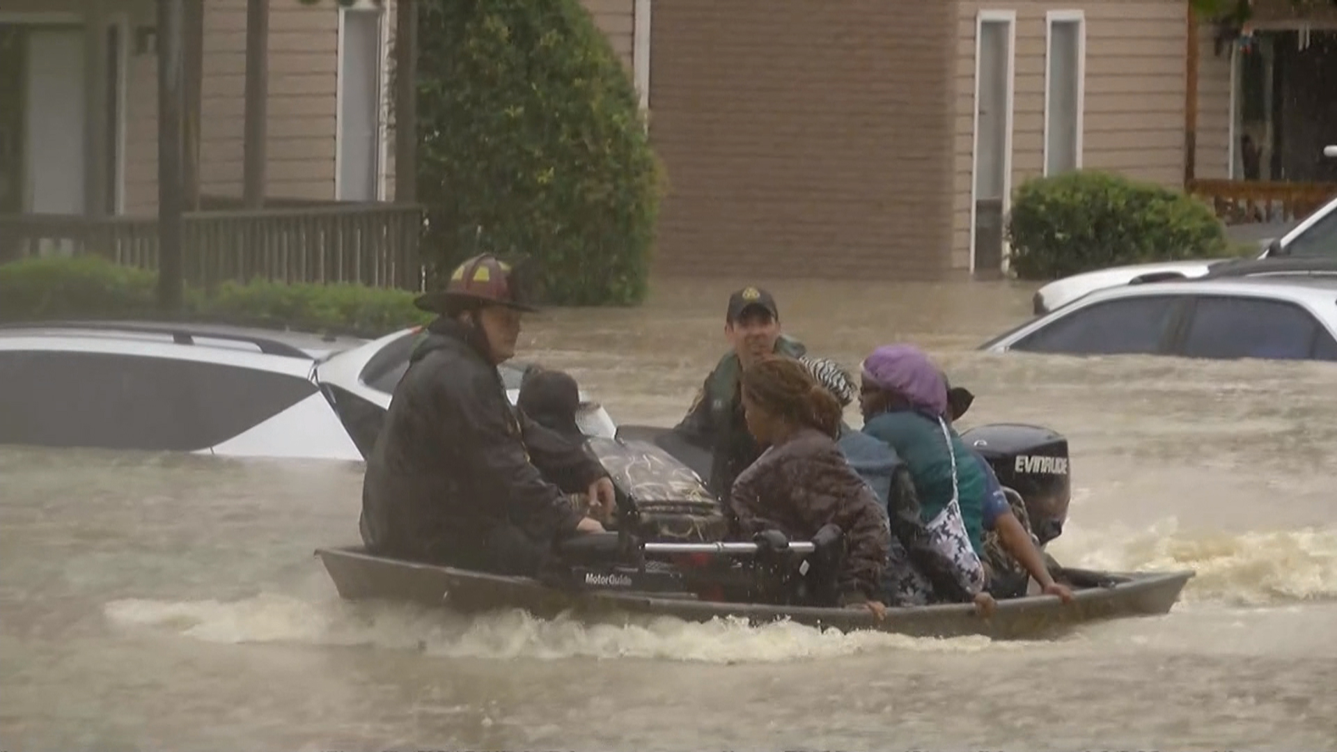 East Coast Flooding ce in 500 Years Downpour Threatens South