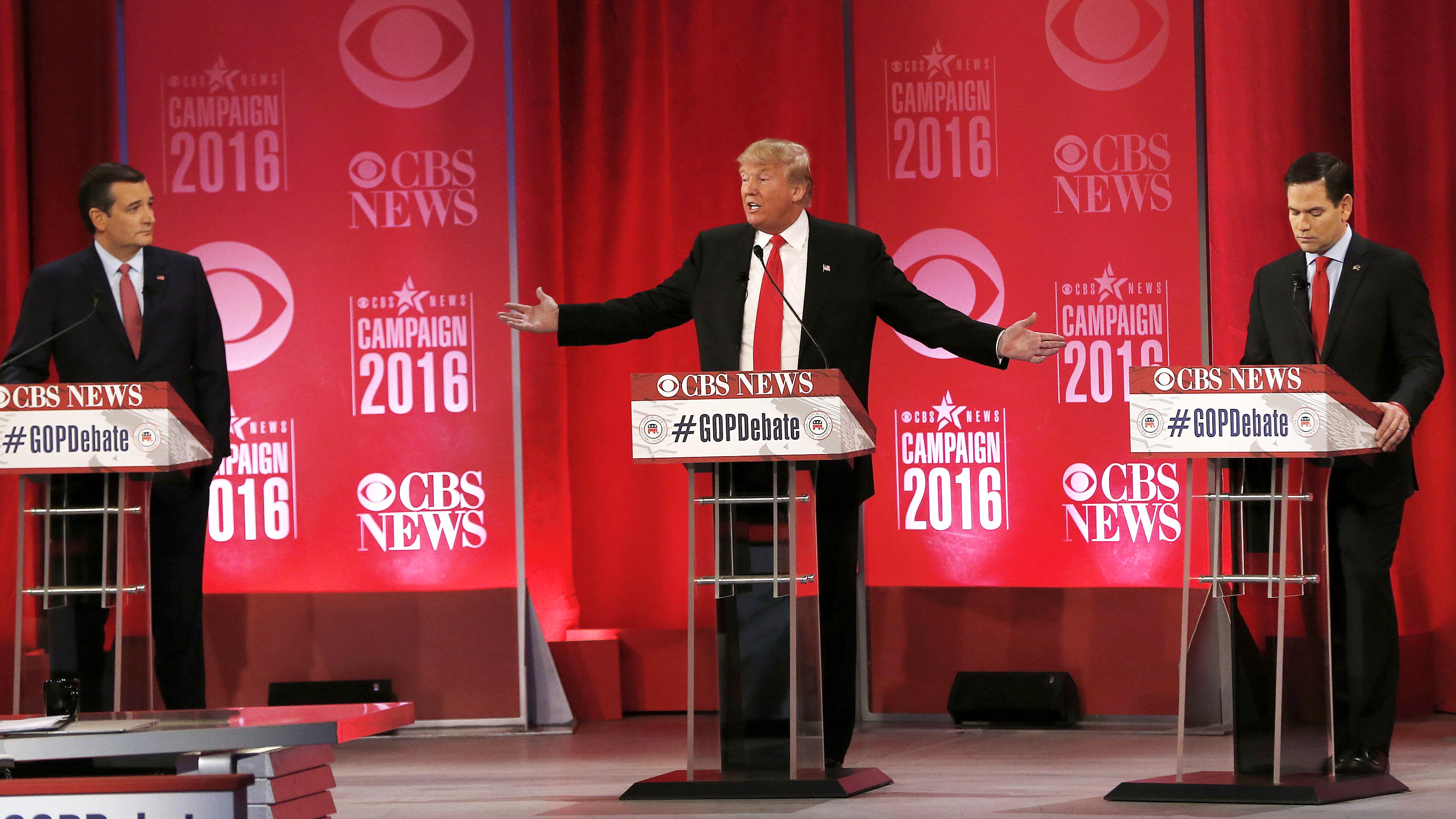 Sparks Fly at Rowdy 2016 Republican Debate in South Carolina