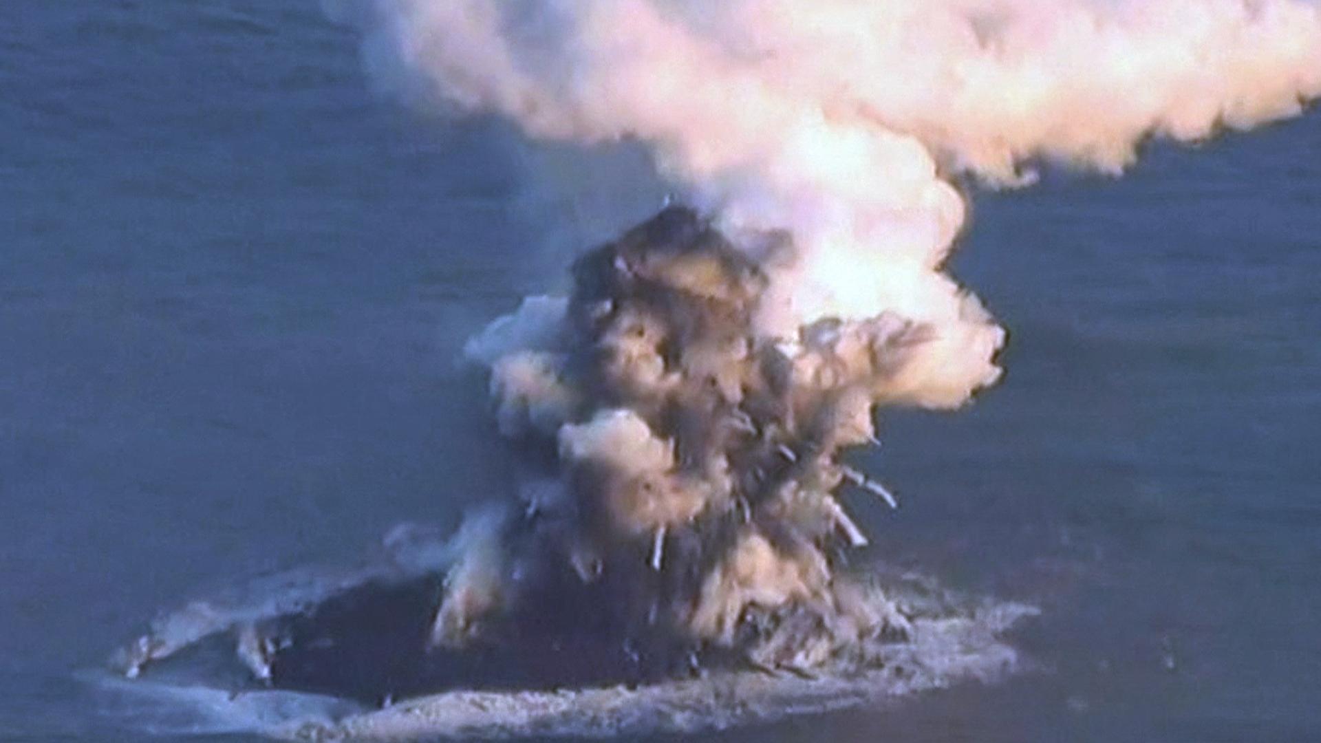 Japanese Volcano Creates New Island