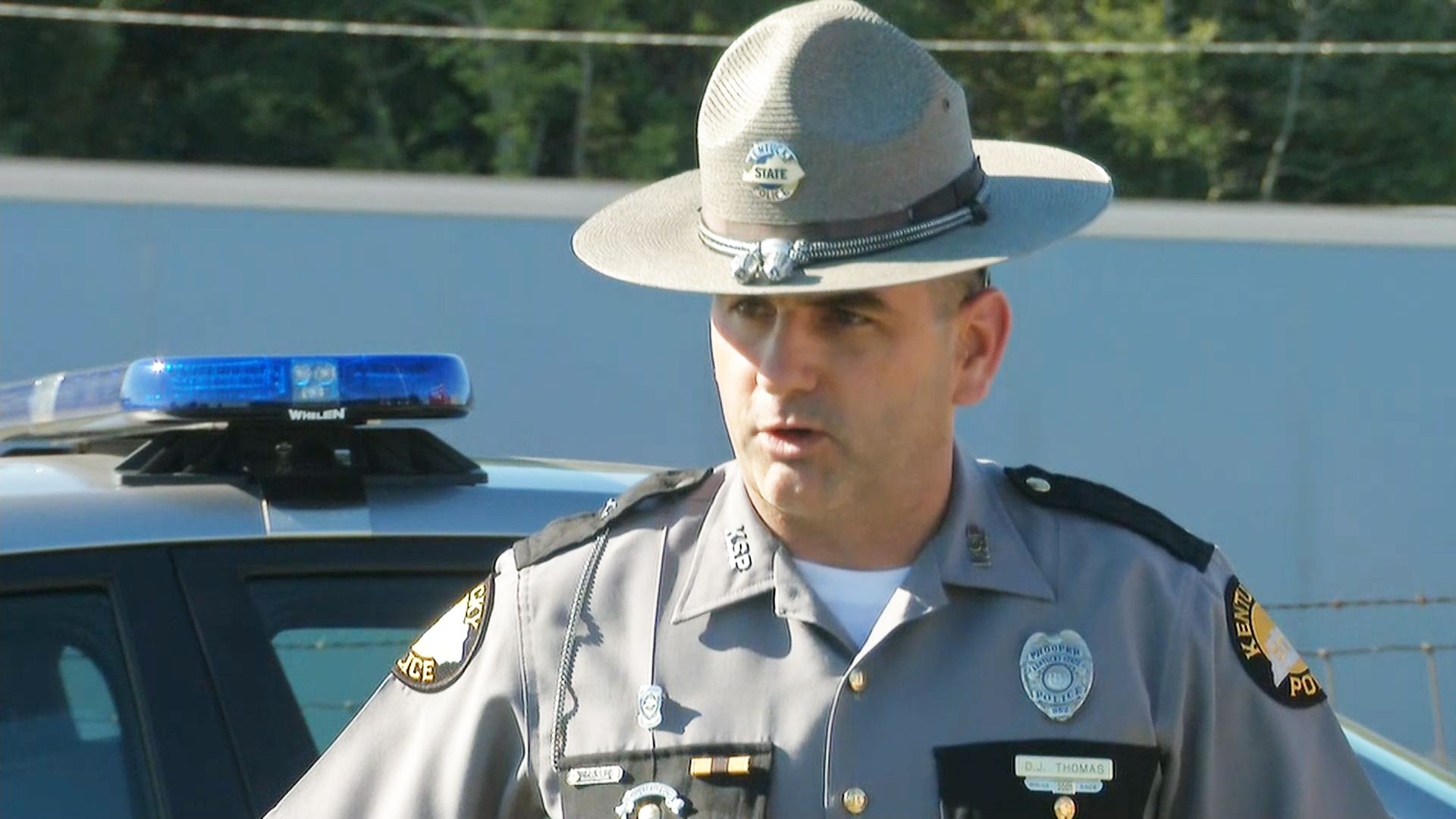 Man Suspected of Gunning Down Kentucky Trooper Joseph Cameron Ponder Shot, Killed