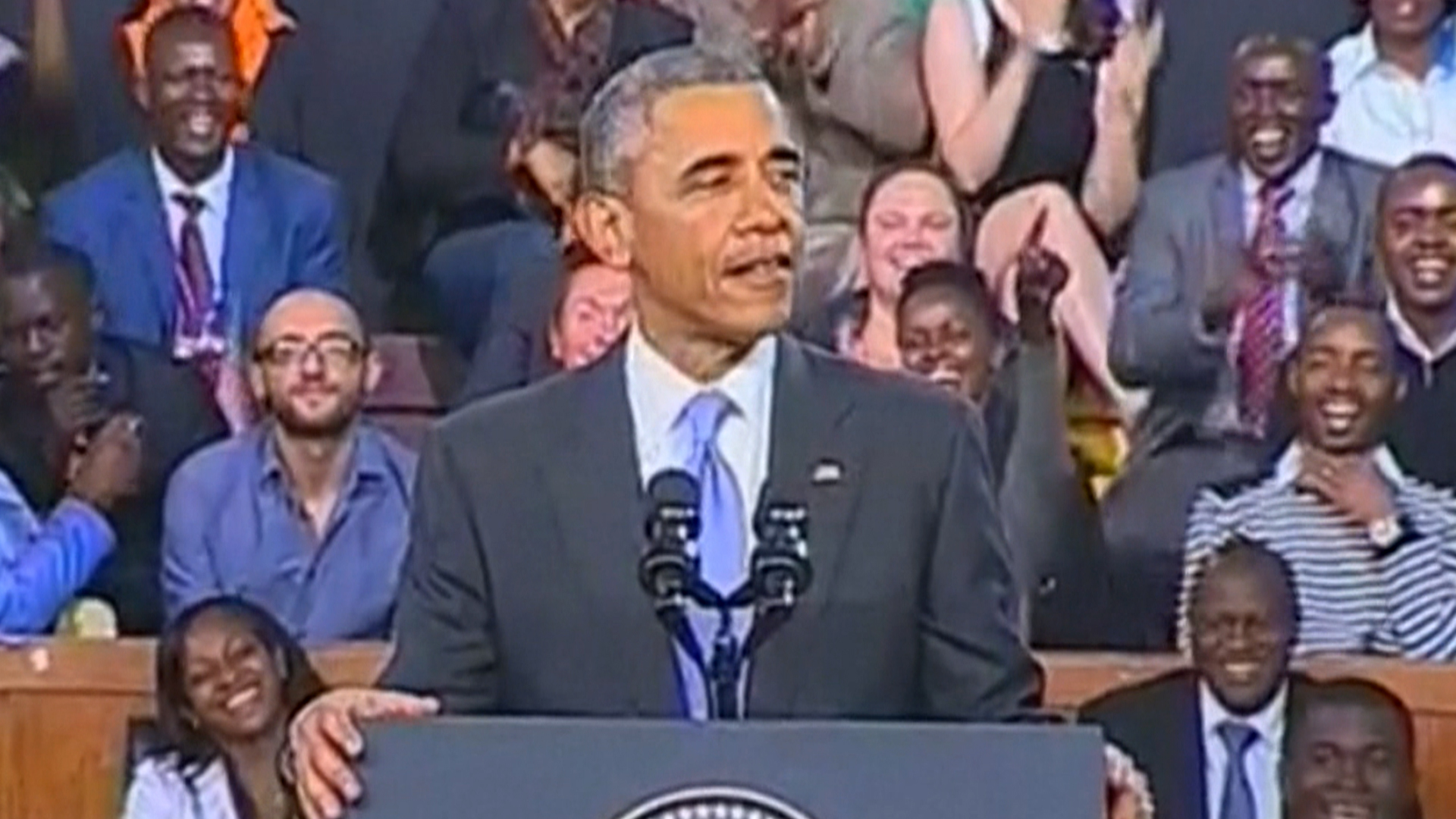 Obama in Africa: I'm Proud To Be First Kenyan-American President