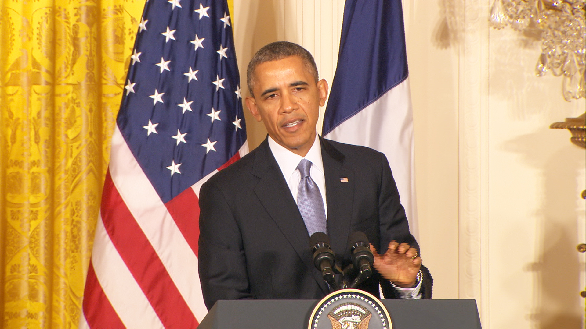 Obama: Syria Is 'Crumbling'