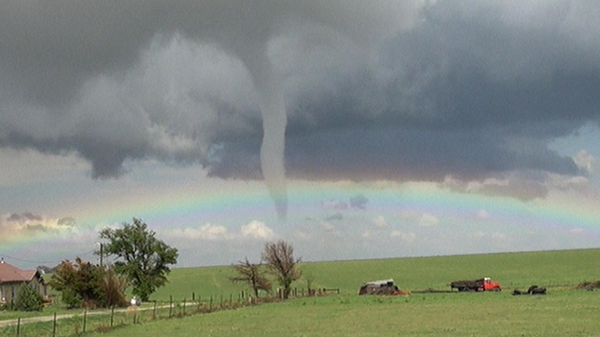 Next Stop Oz?: Watch as Rainbow Meets Tornado in Colorado