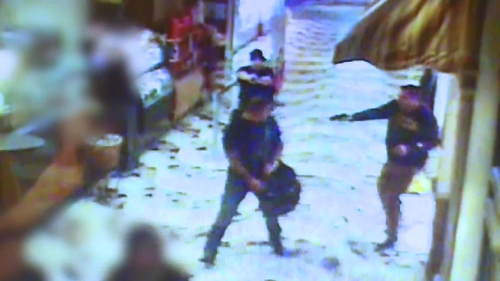 las vegas police release video of casino shooting nbc news. Black Bedroom Furniture Sets. Home Design Ideas