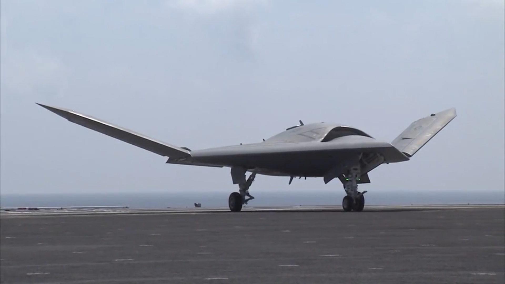 Navy's Massive Triton Spy Drone Completes Cross-Country Flight