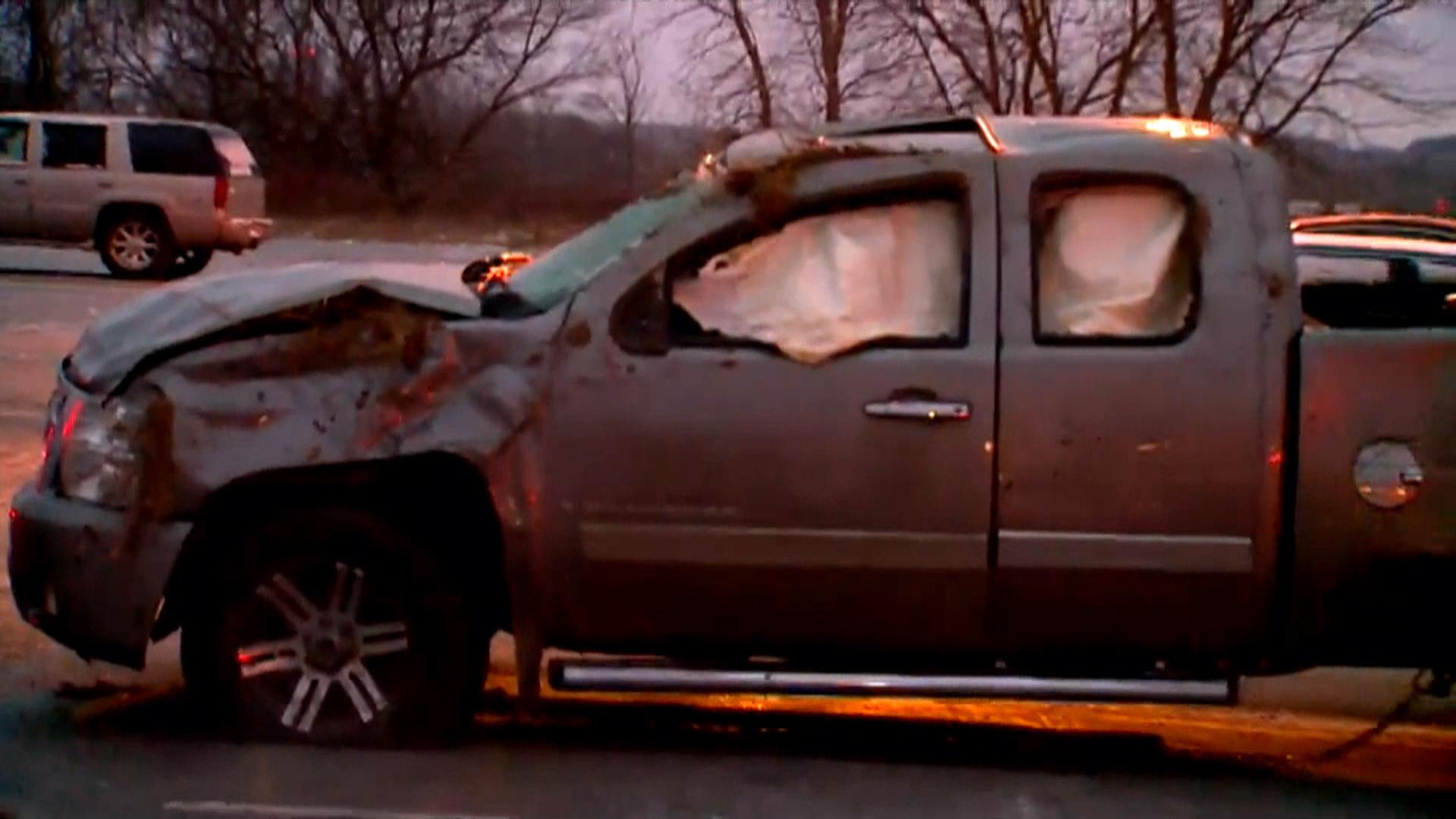 Dozens Crash on Icy Roads in Michigan - NBC News