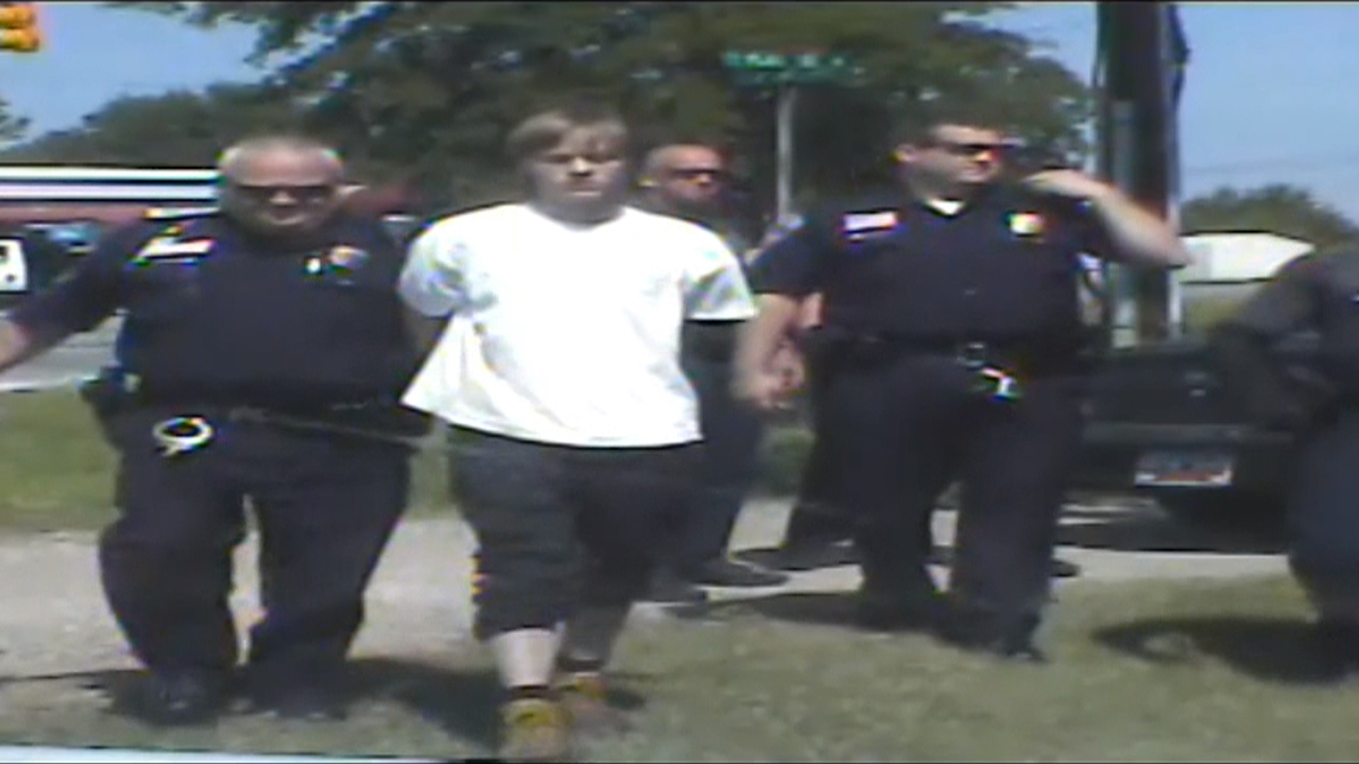 Dylann Roof Arrest Caught On Dashcam Video Nbc News