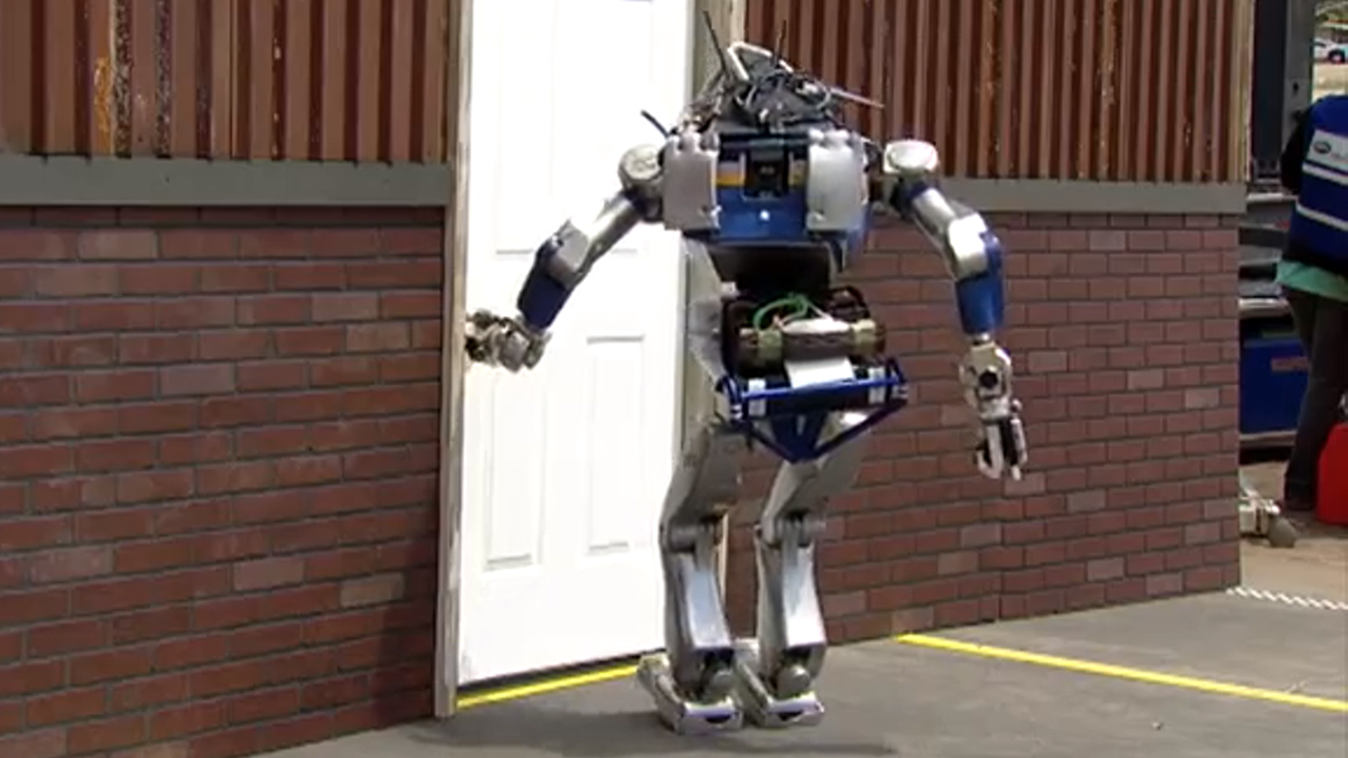 Is That You, Rosie? Humanoid Atlas Robot Takes on Household Cleaning Tasks