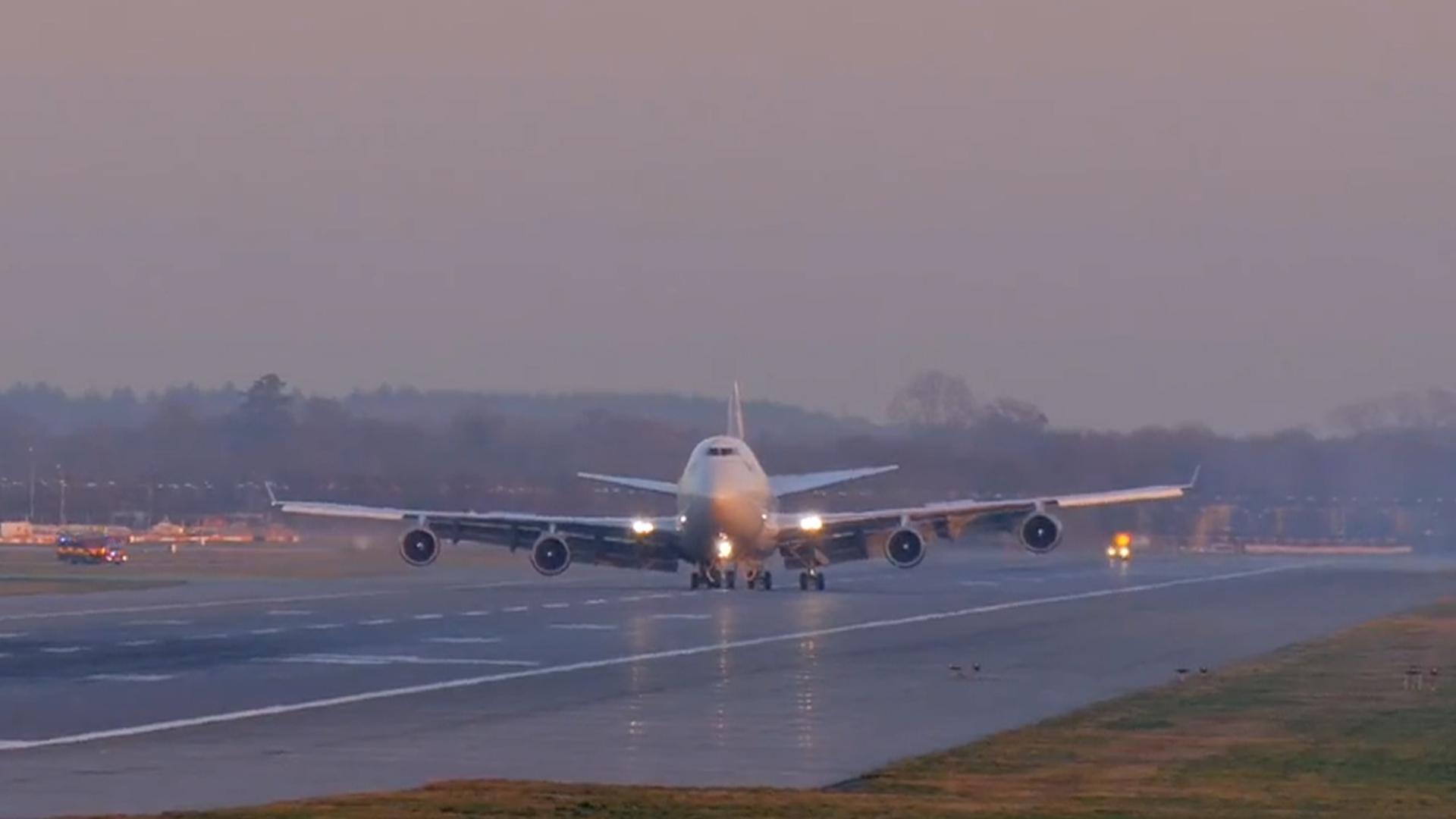 Virgin Atlantic Flight Bound for Las Vegas Makes 'Non-Standard Landing' at Gatwick