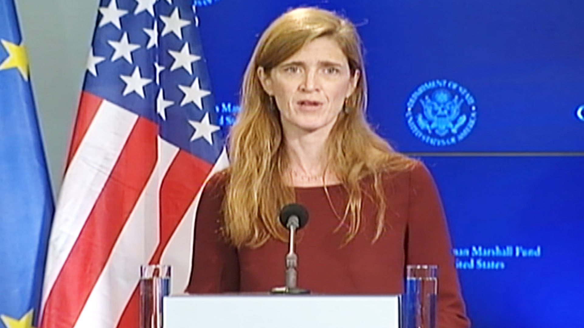 Samantha Power: Returning Health Workers Should be Treated Like Heroes