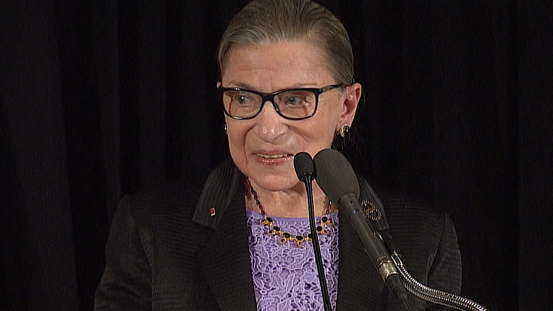 Ruth Bader Ginsburg on Scalia's Role in Getting Her on High Court