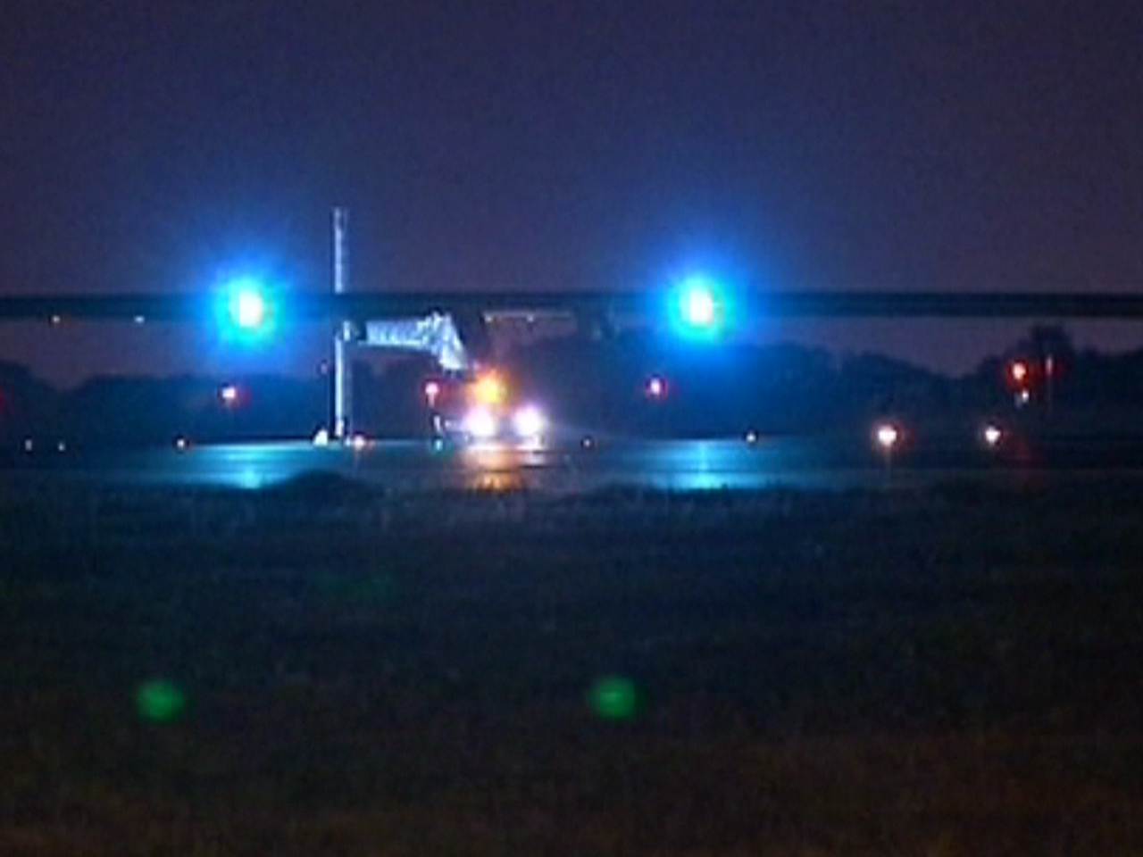 Solar Impulse plane ends American odyssey with fears, tears and cheers
