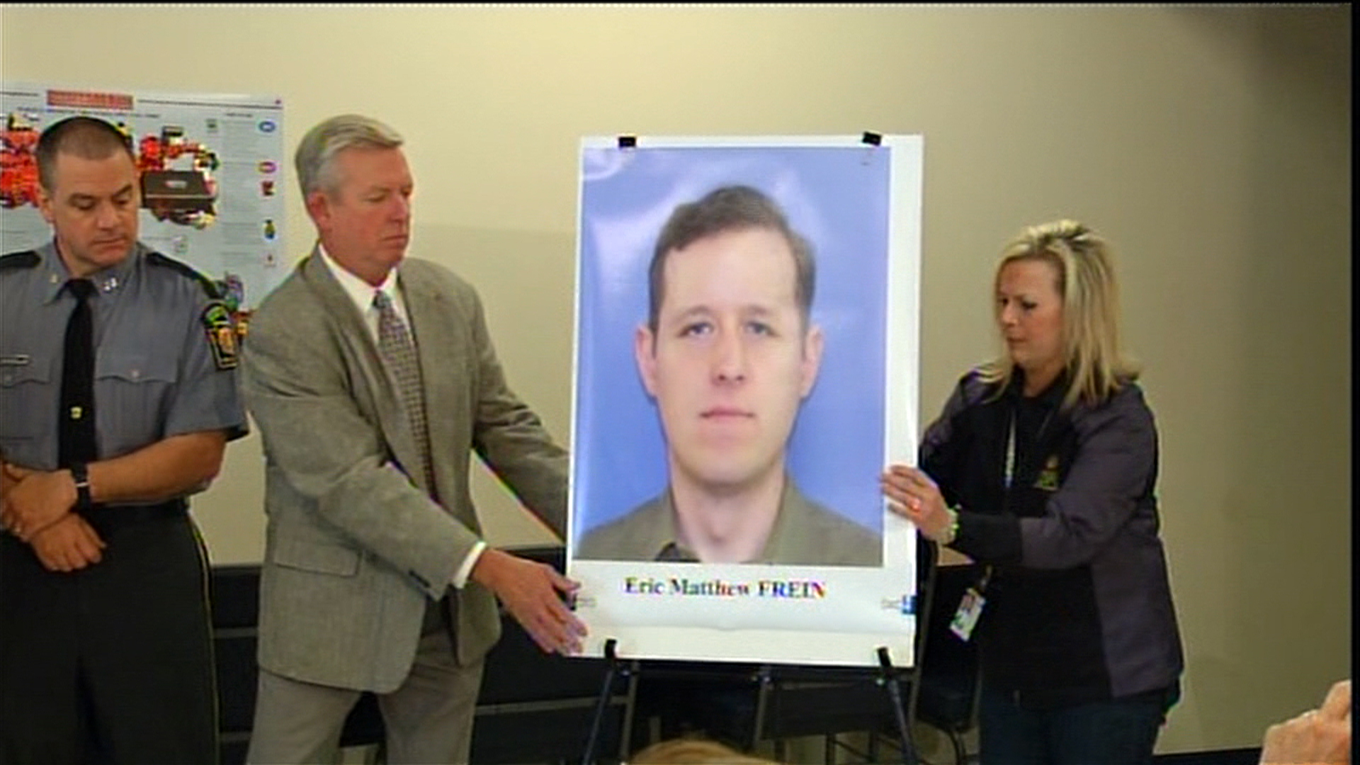 Manhunt for Eric Matthew Frein, Suspect in Pennsylvania Ambush