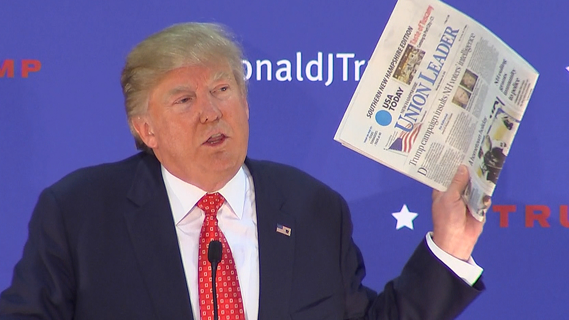 Donald Trump: Union Leader Newspaper 'Is a Piece of Garbage' - NBC ...