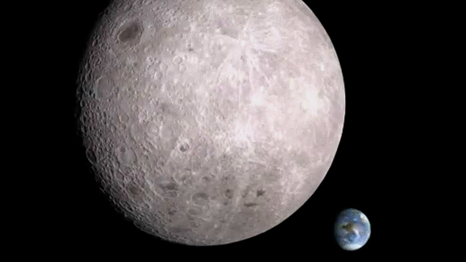nasa reveals dark side of moon - photo #8