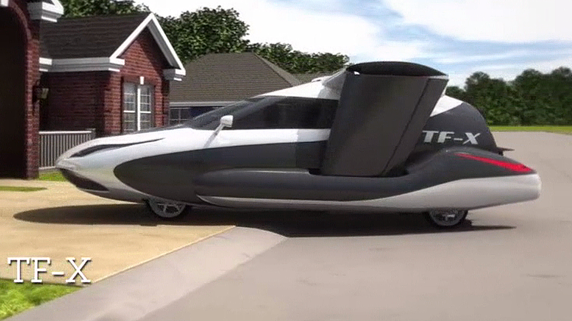 here comes the flying cars