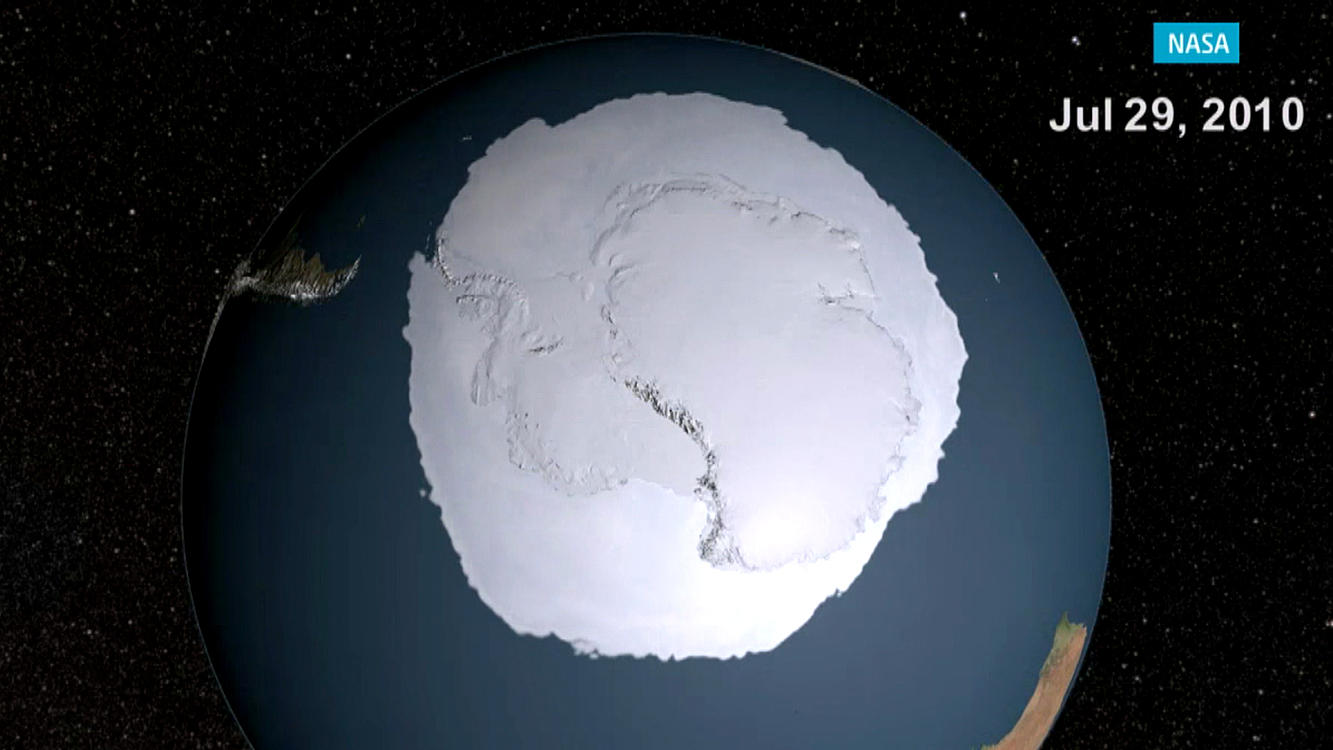 Antarctic Sea Ice Growth Baffles Scientists