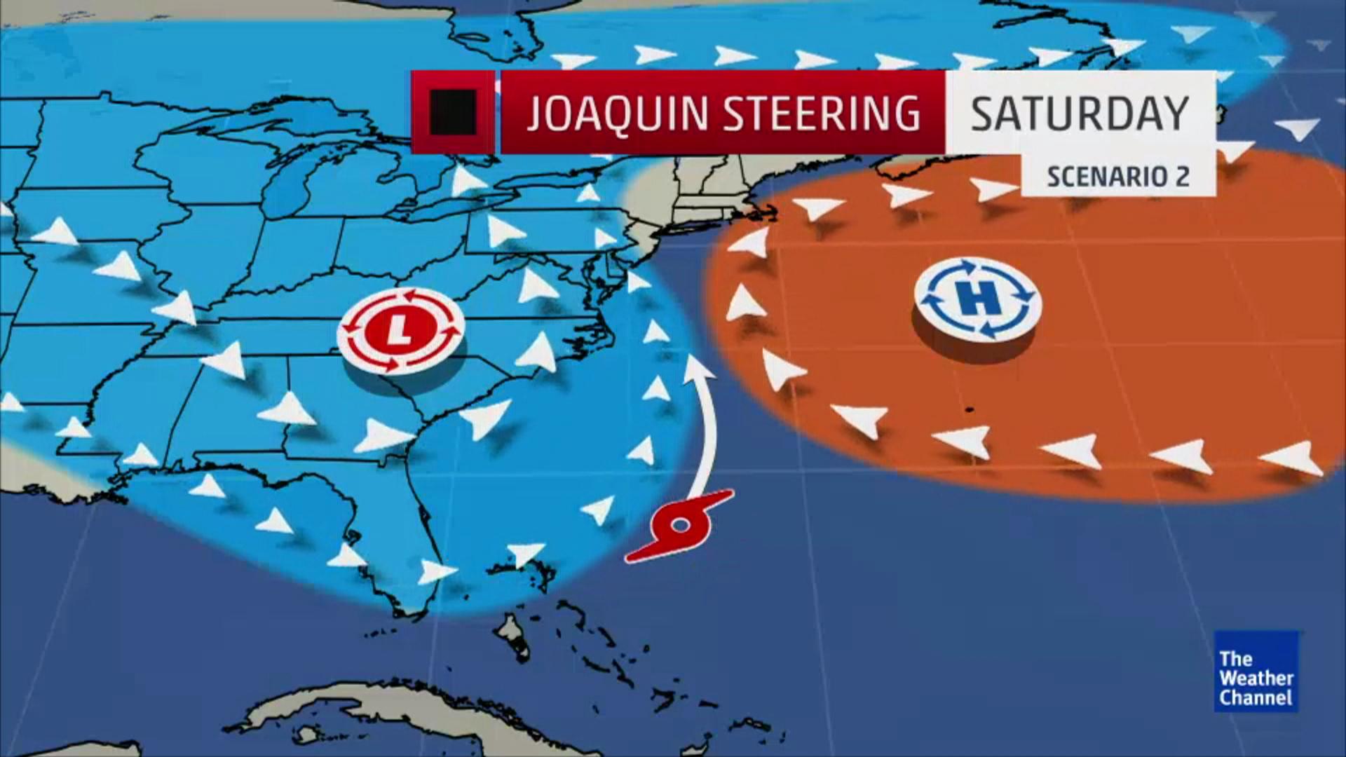 Hurricane Joaquin Intensifies On Way To Bahamas