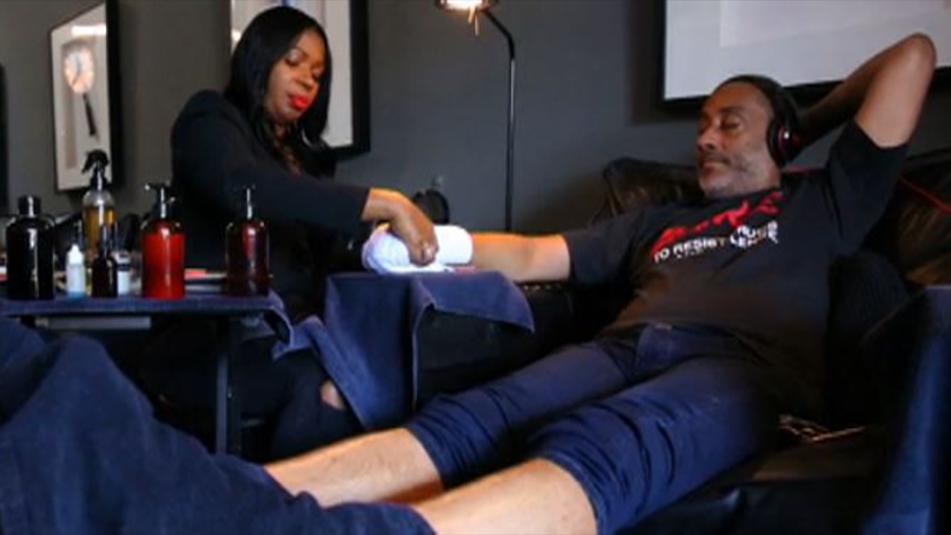 Need a Manly Pedi? Welcome to LA\'s First Nail Salon Just For Men