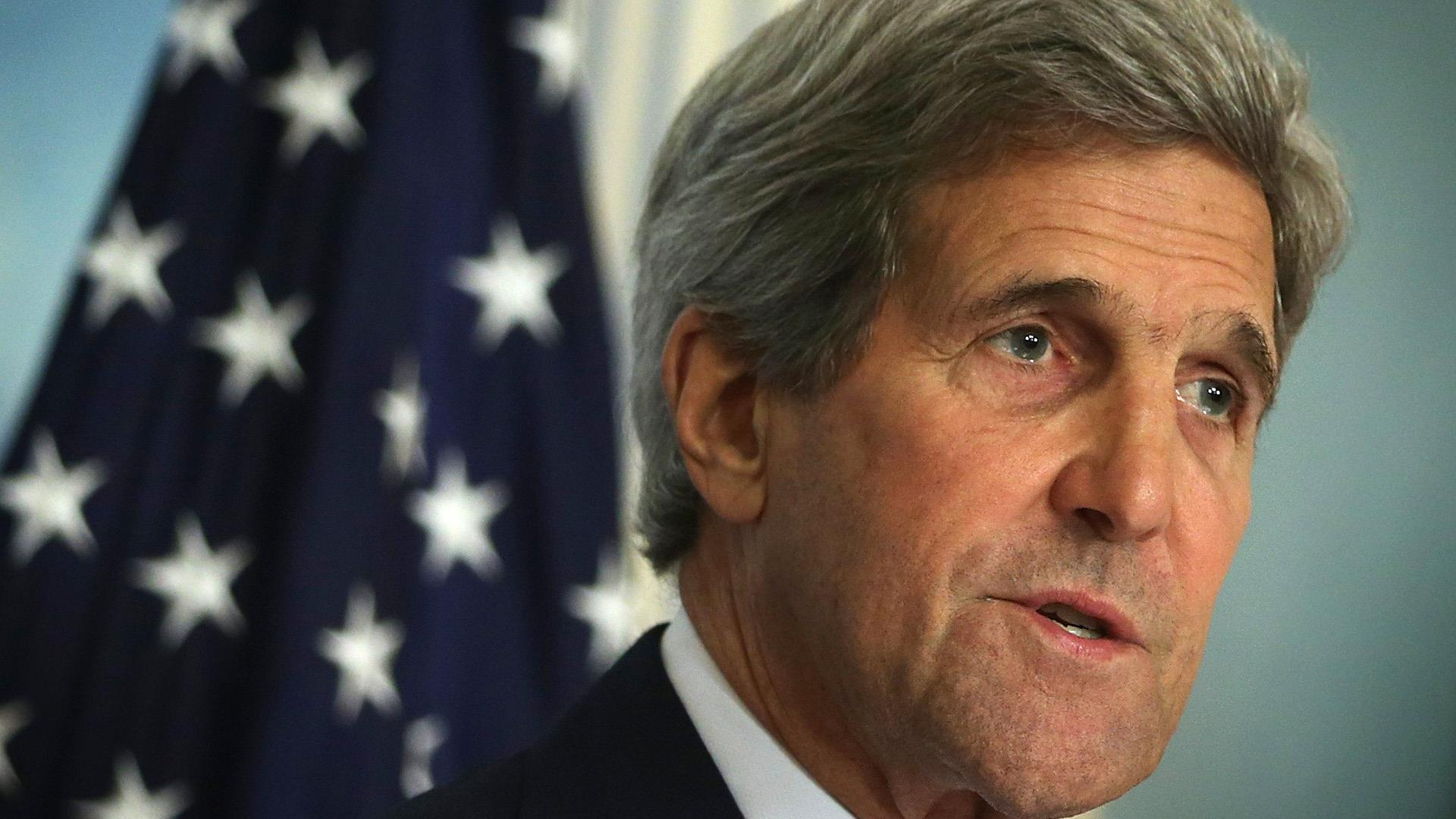 Kerry, Lavrov hold briefing in Russia