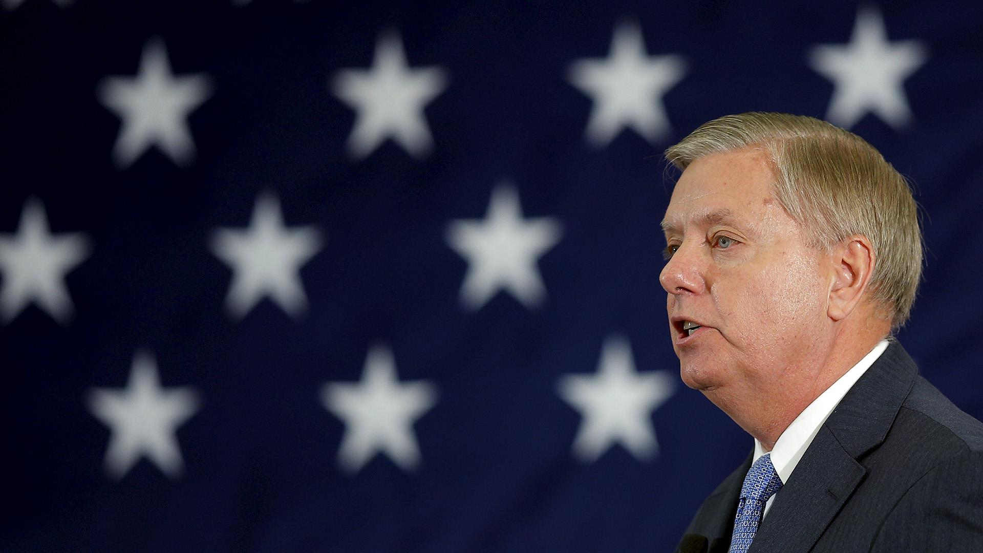Lindsey Graham enters presidential race