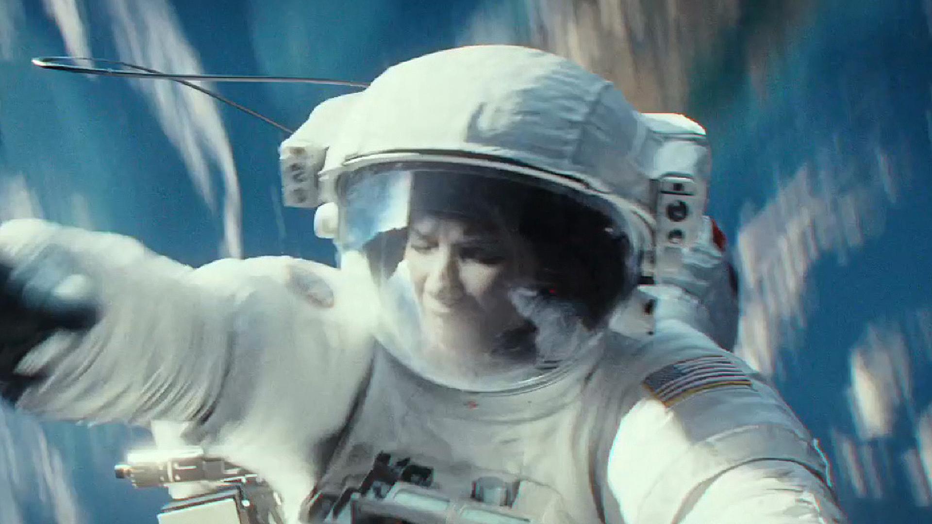Image: Sandra Bullock in 'Gravity'