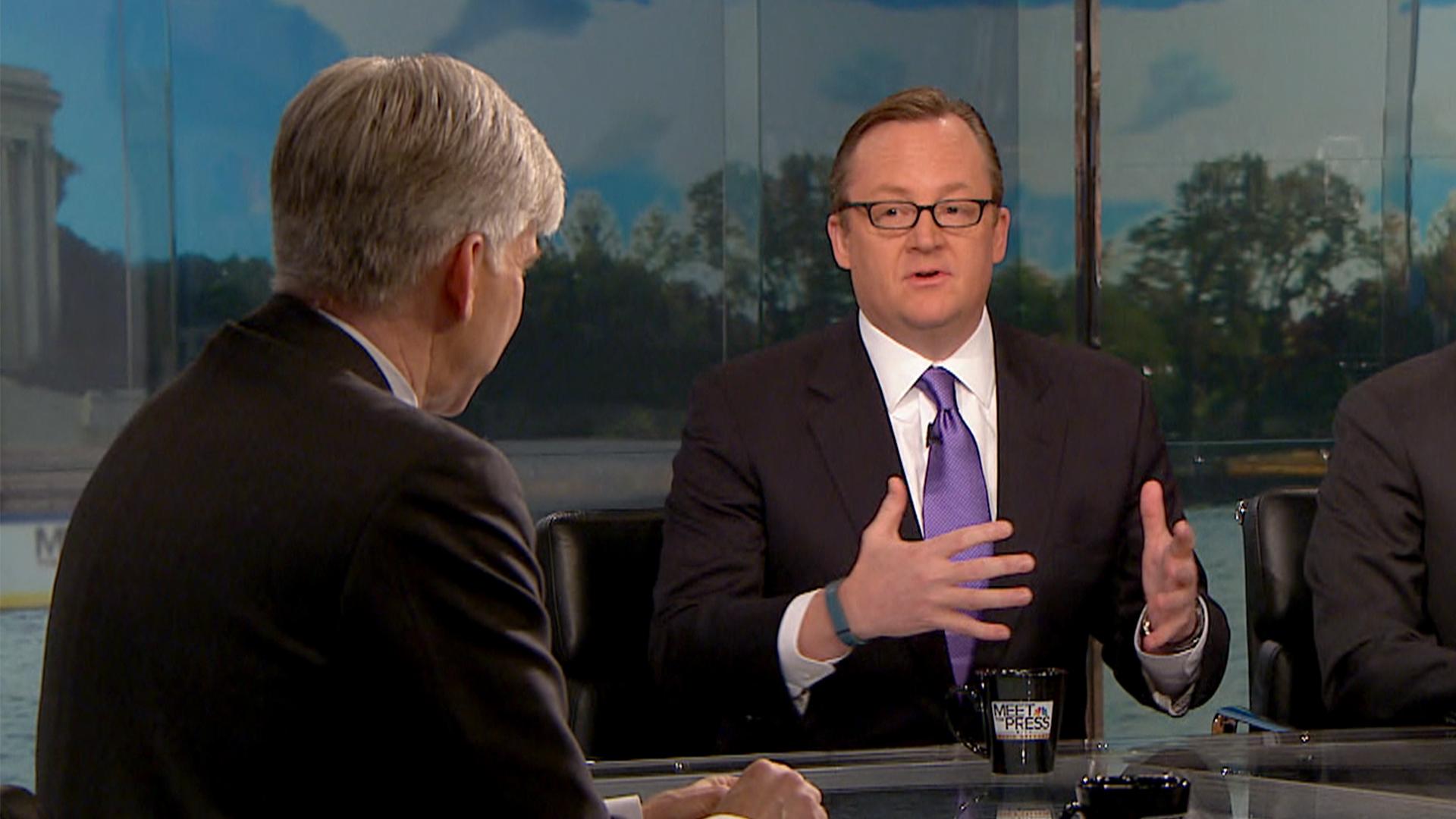 Gibbs: 'Absolutely' Senate in Danger for Dems