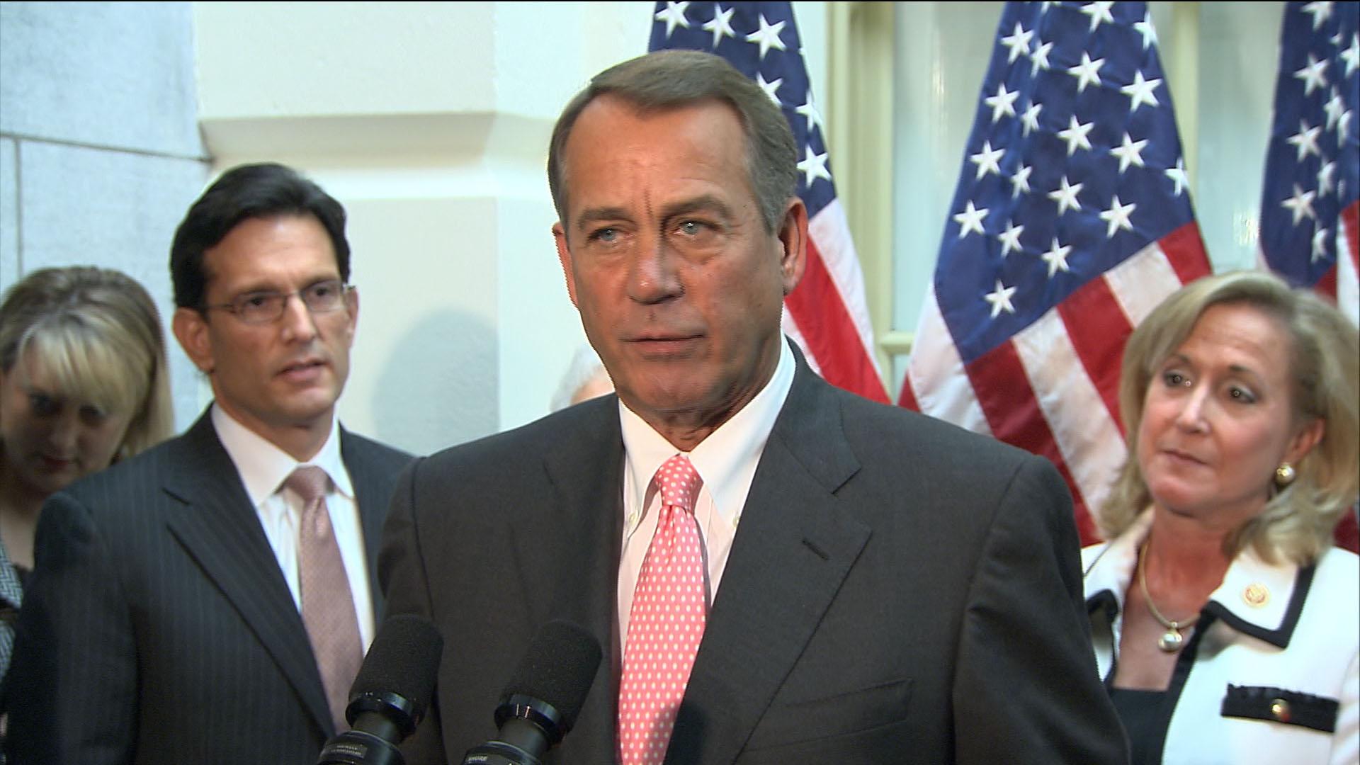 Cracks in GOP shutdown unity